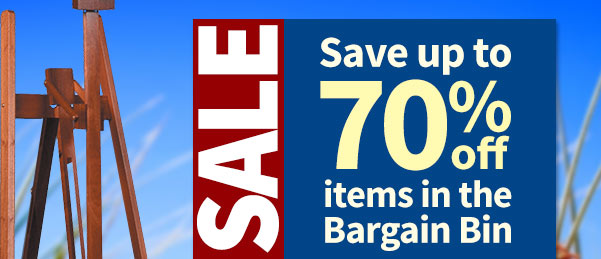 Up to 70% Off Bargain Bin