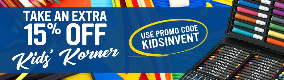 15% Off Kids' Korner Use Promo Code KIDSINVENT