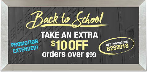 Extended! Take an Extra $10 off orders over $99