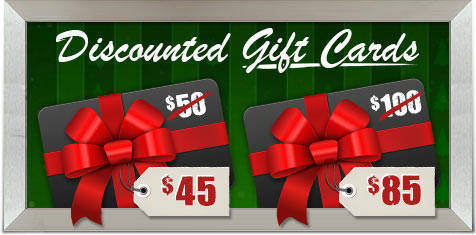 Discounted Gift Cards! The perfect last minute gift