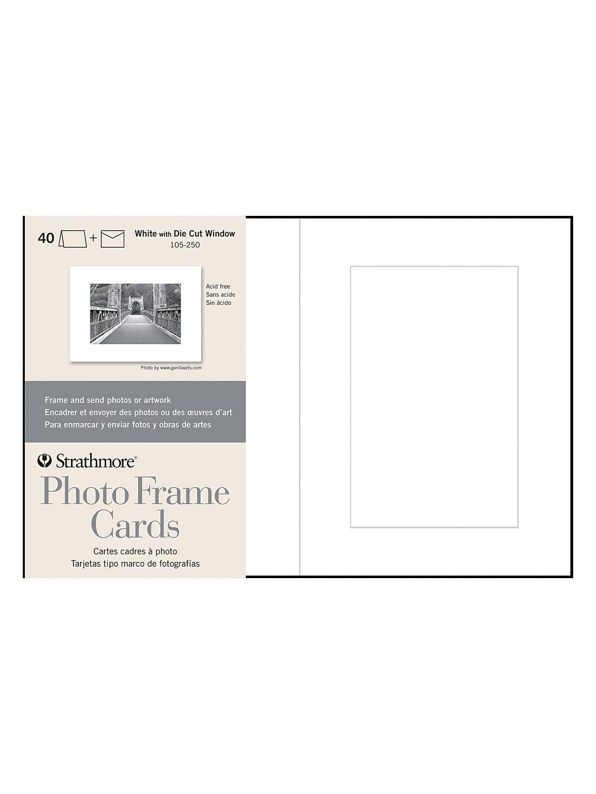 Strathmore - Photoframe Greeting Card