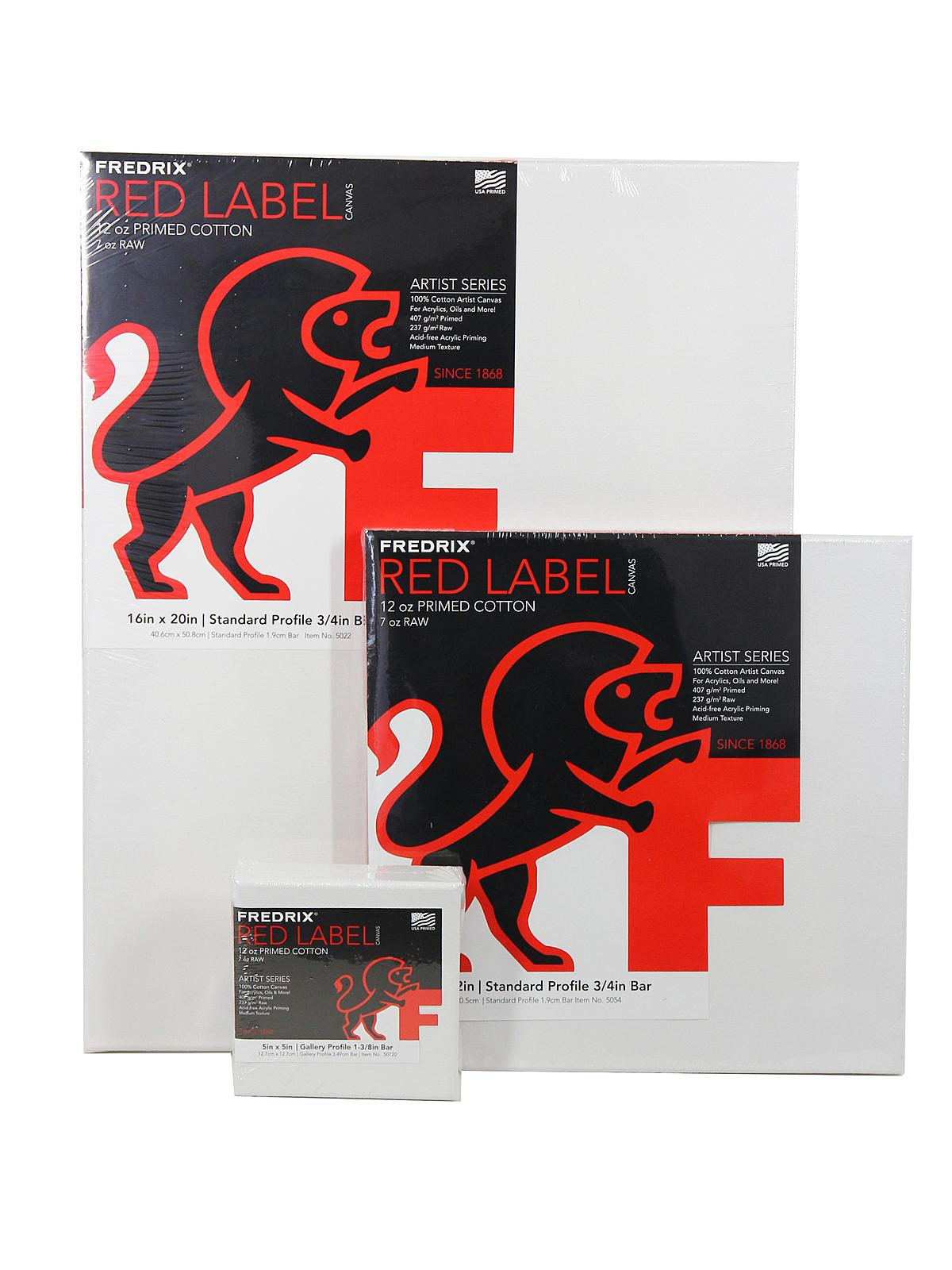 Fredrix - Red Label Standard Stretched Cotton Canvas