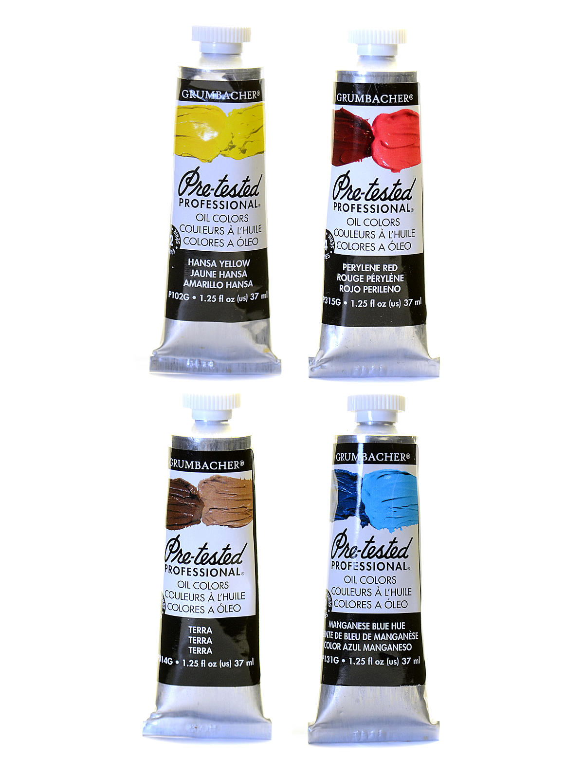 Pre-Tested Artists Oil Colors