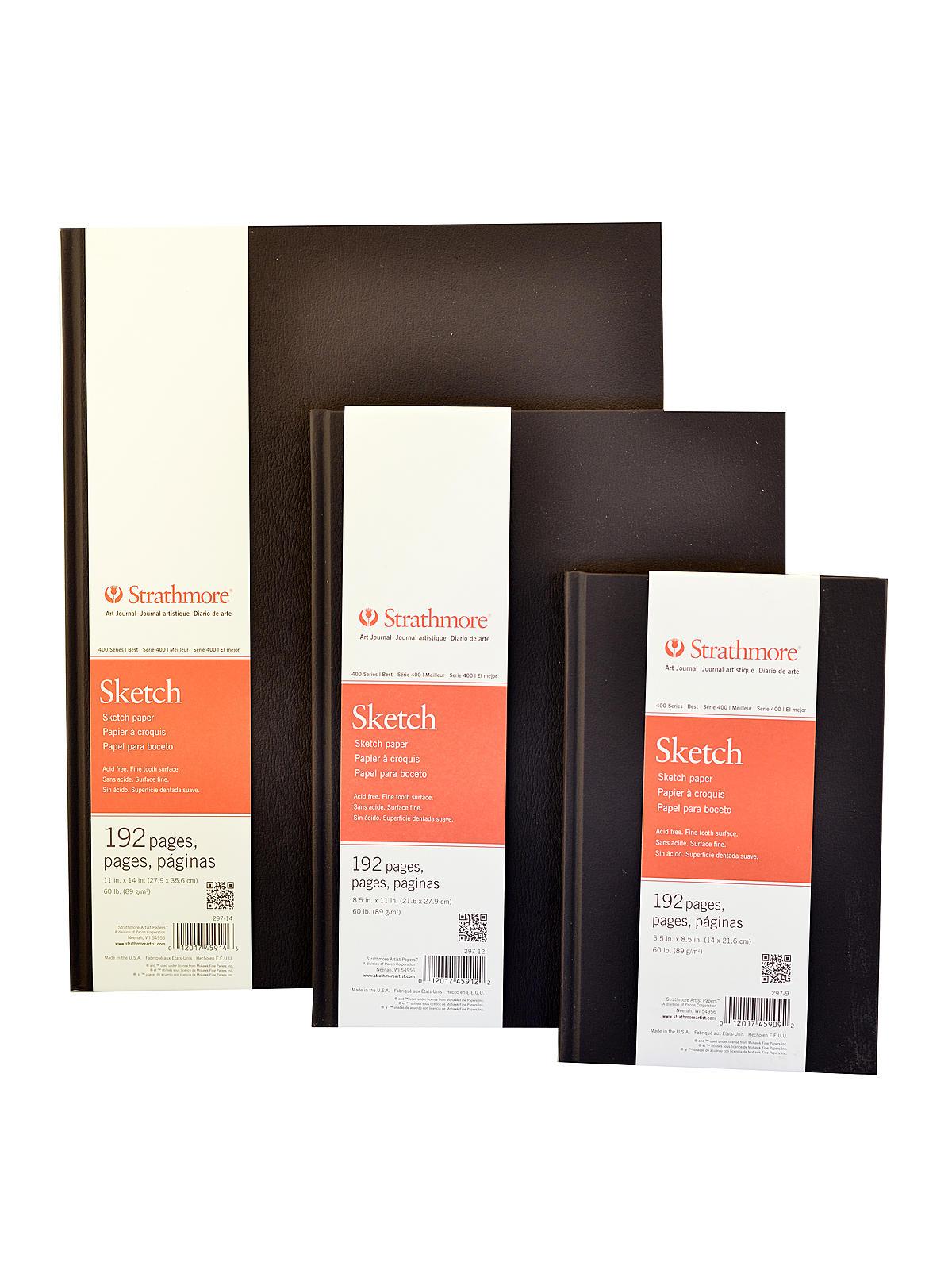 400 Series Hard Bound Sketch Book