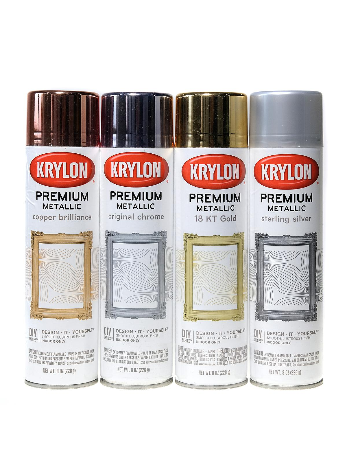 Premium Metallic Spray Paint