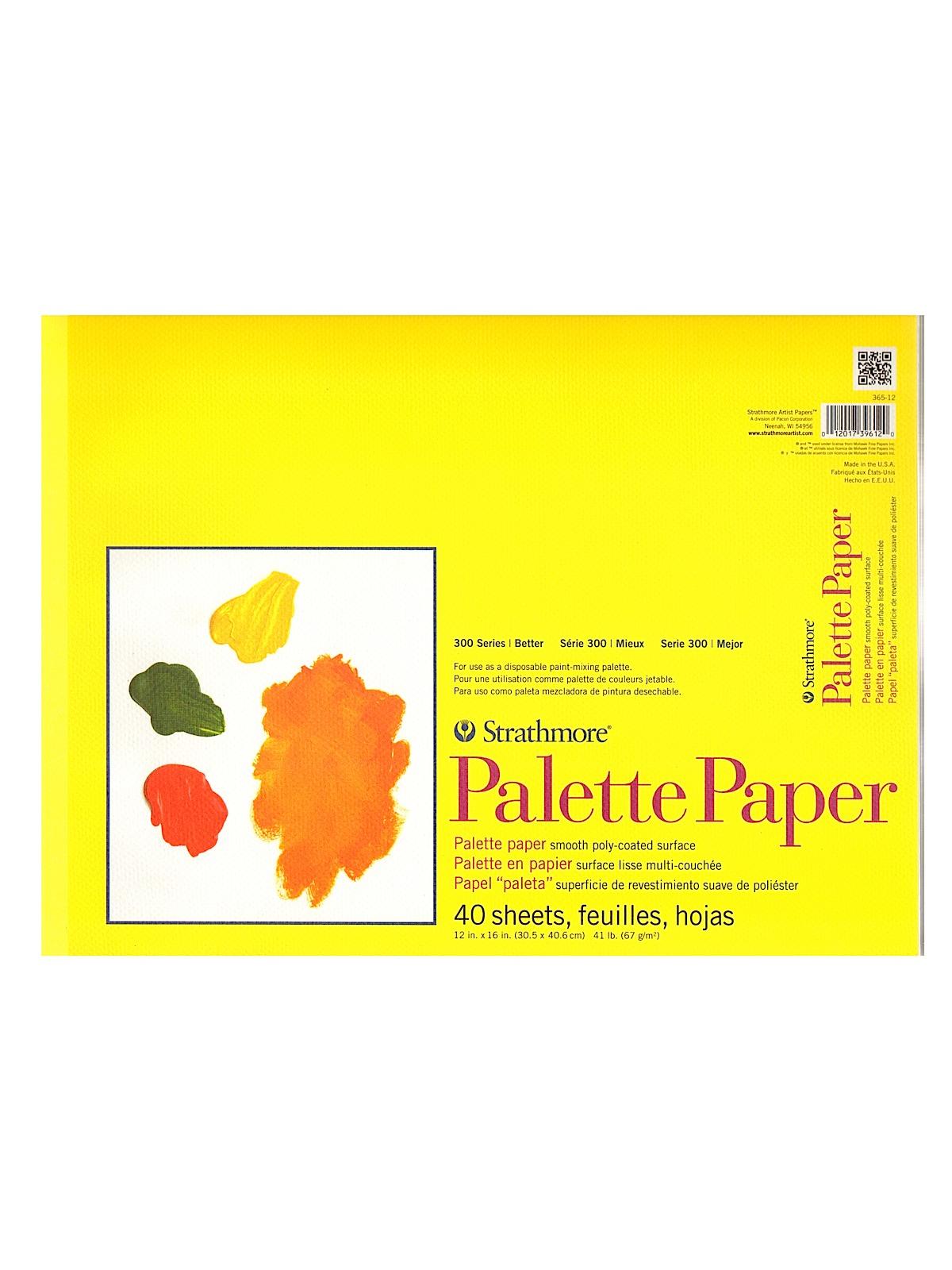 Paper Palette Pad