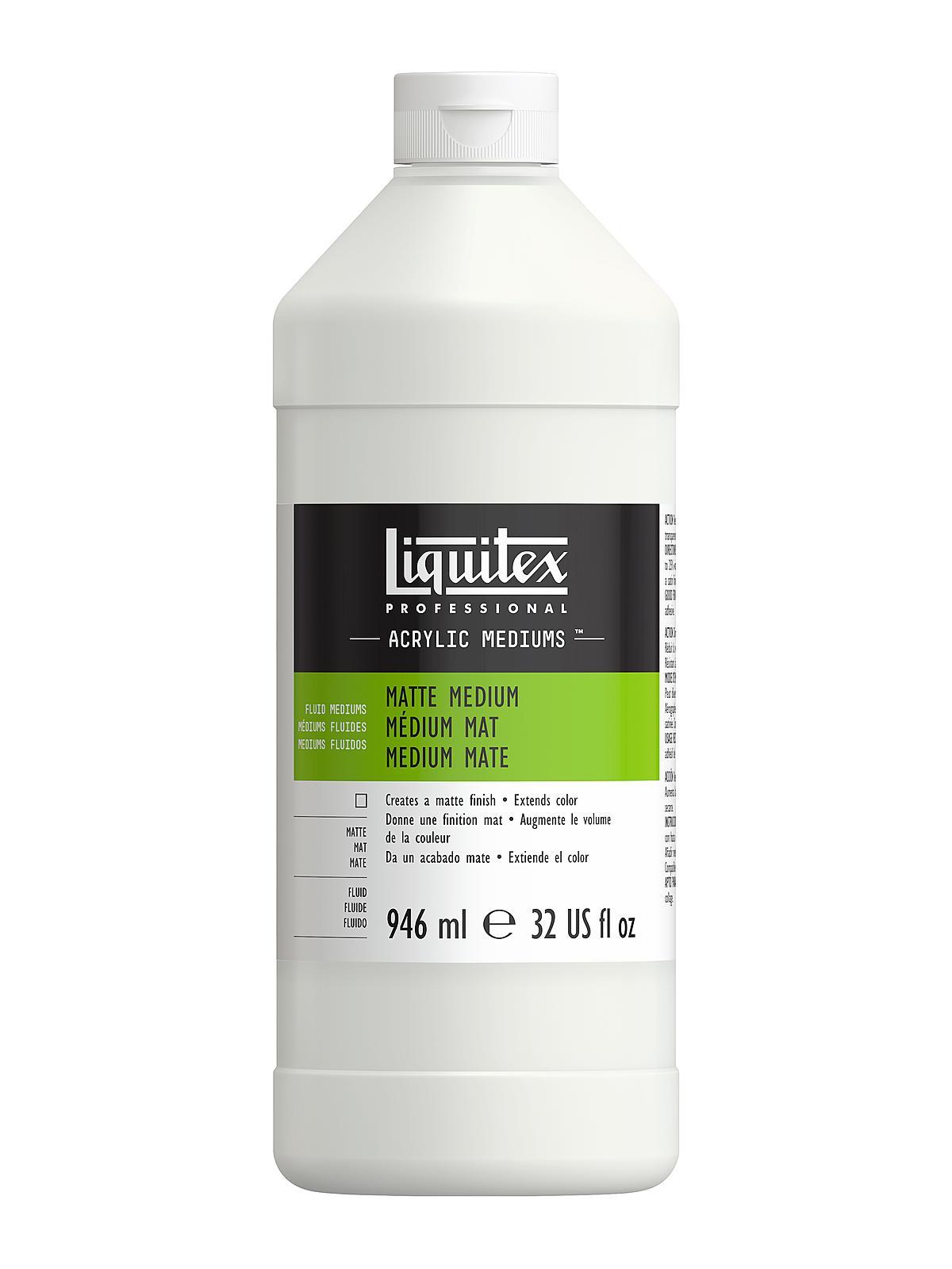 Liquitex acrylic matte medium for Gloss medium for acrylic painting