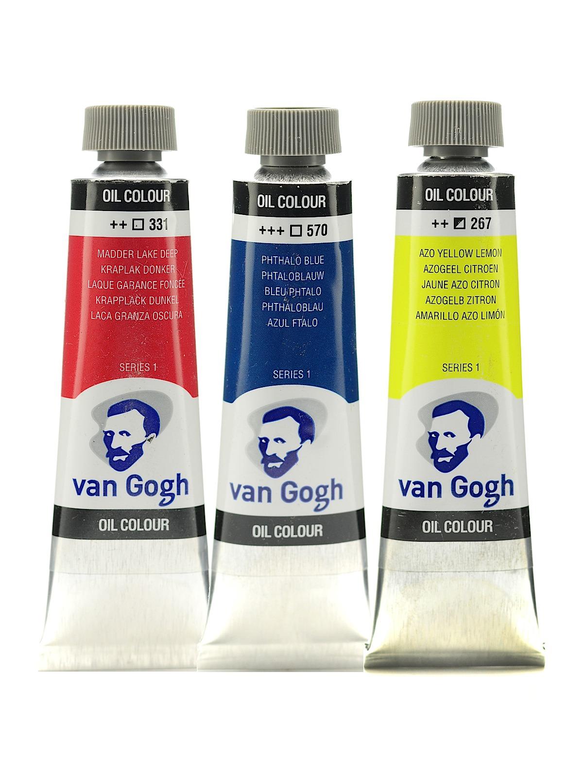 Van Gogh Oil Color   MisterArt.com