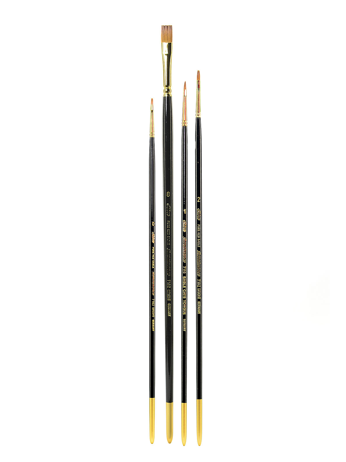 Renaissance Series Brushes Long Handle
