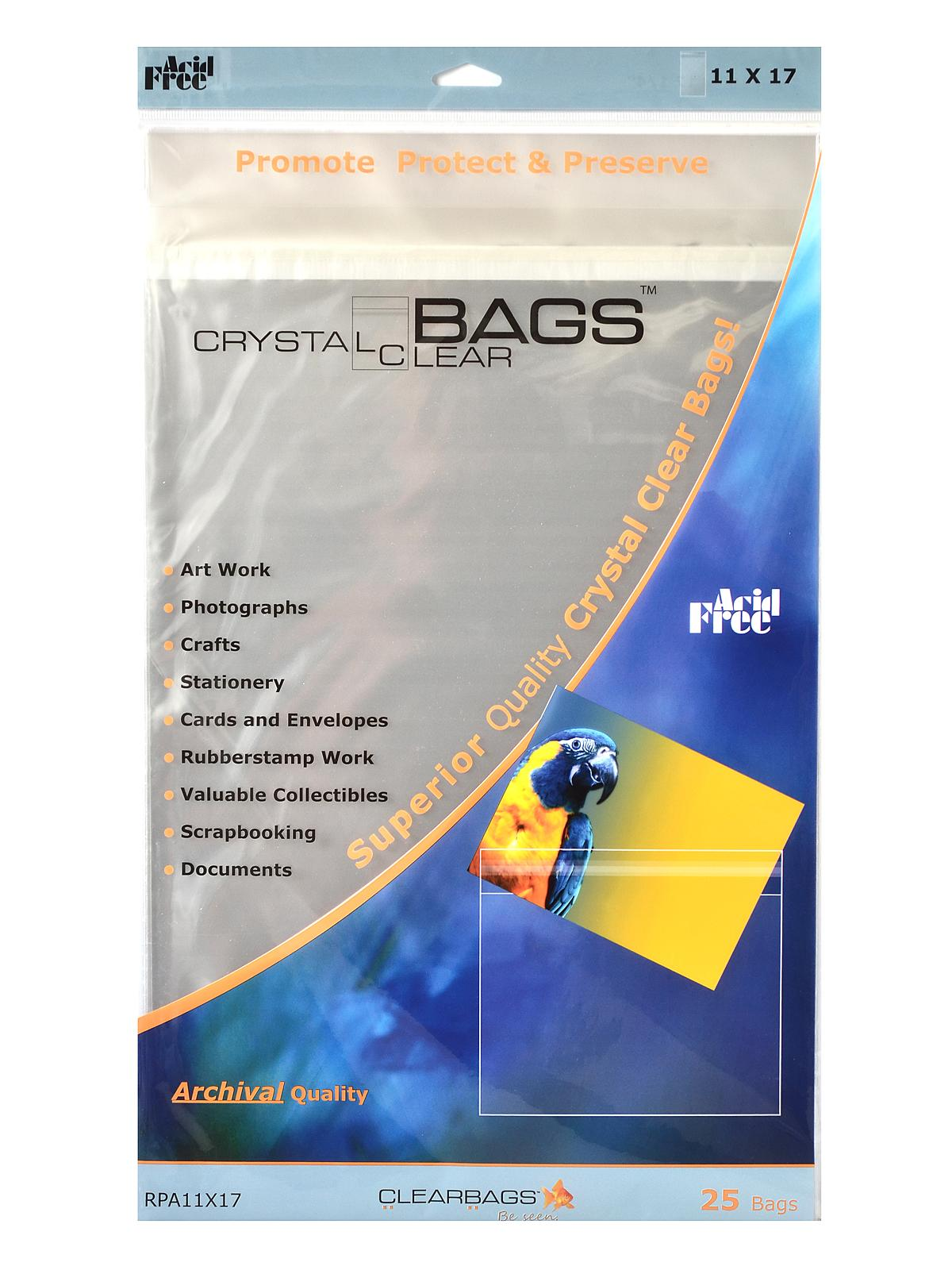 Clearbags Crystal Clear Photography Amp Art Bags Misterart Com