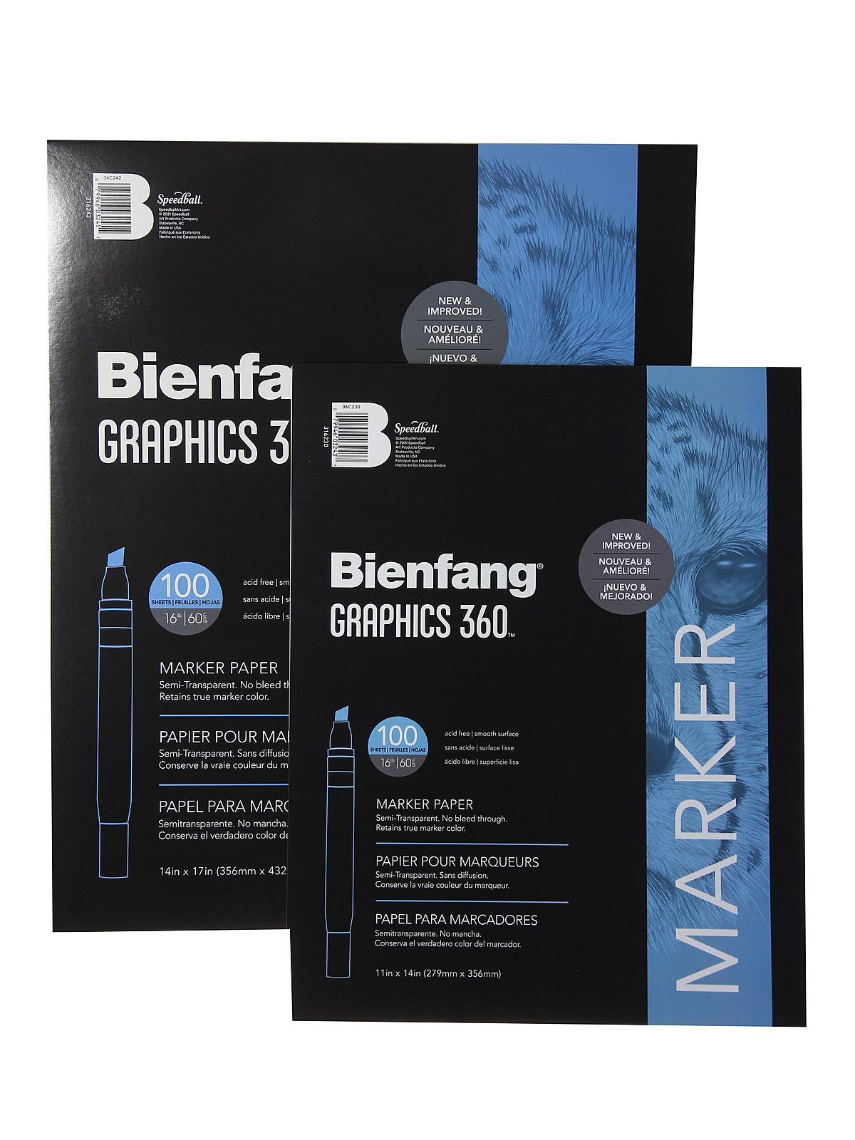 Graphics 360 100% Rag Translucent Marker Paper