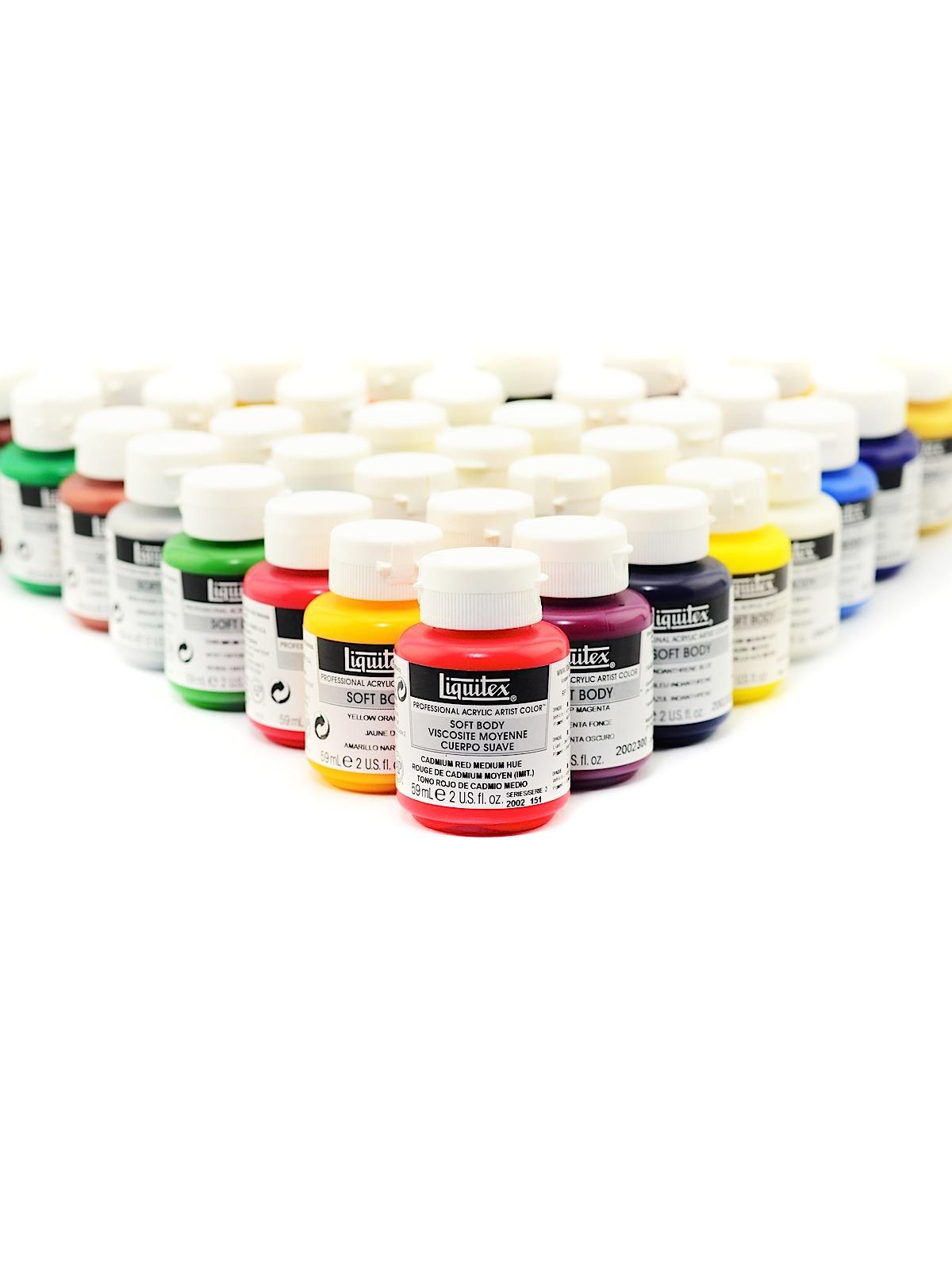 Soft Body Professional Artist Acrylic Colors