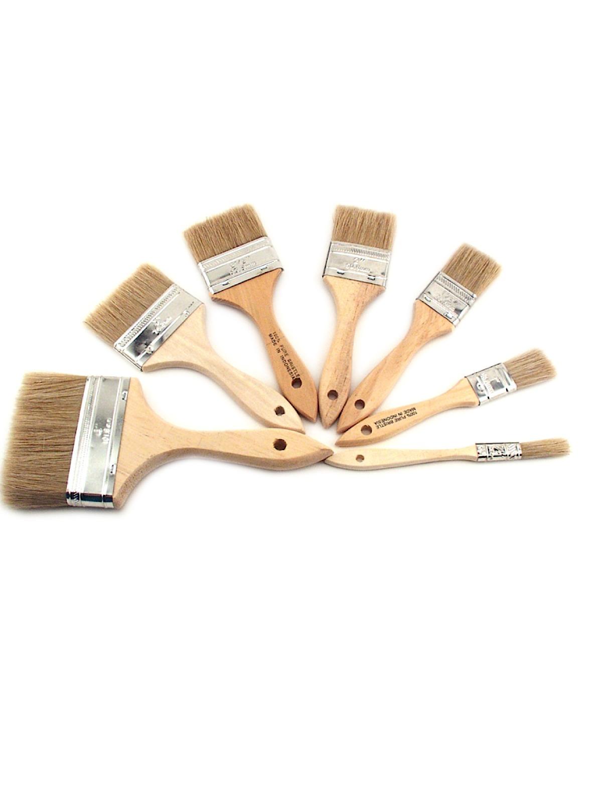Linzer - White Bristle Wash Brush