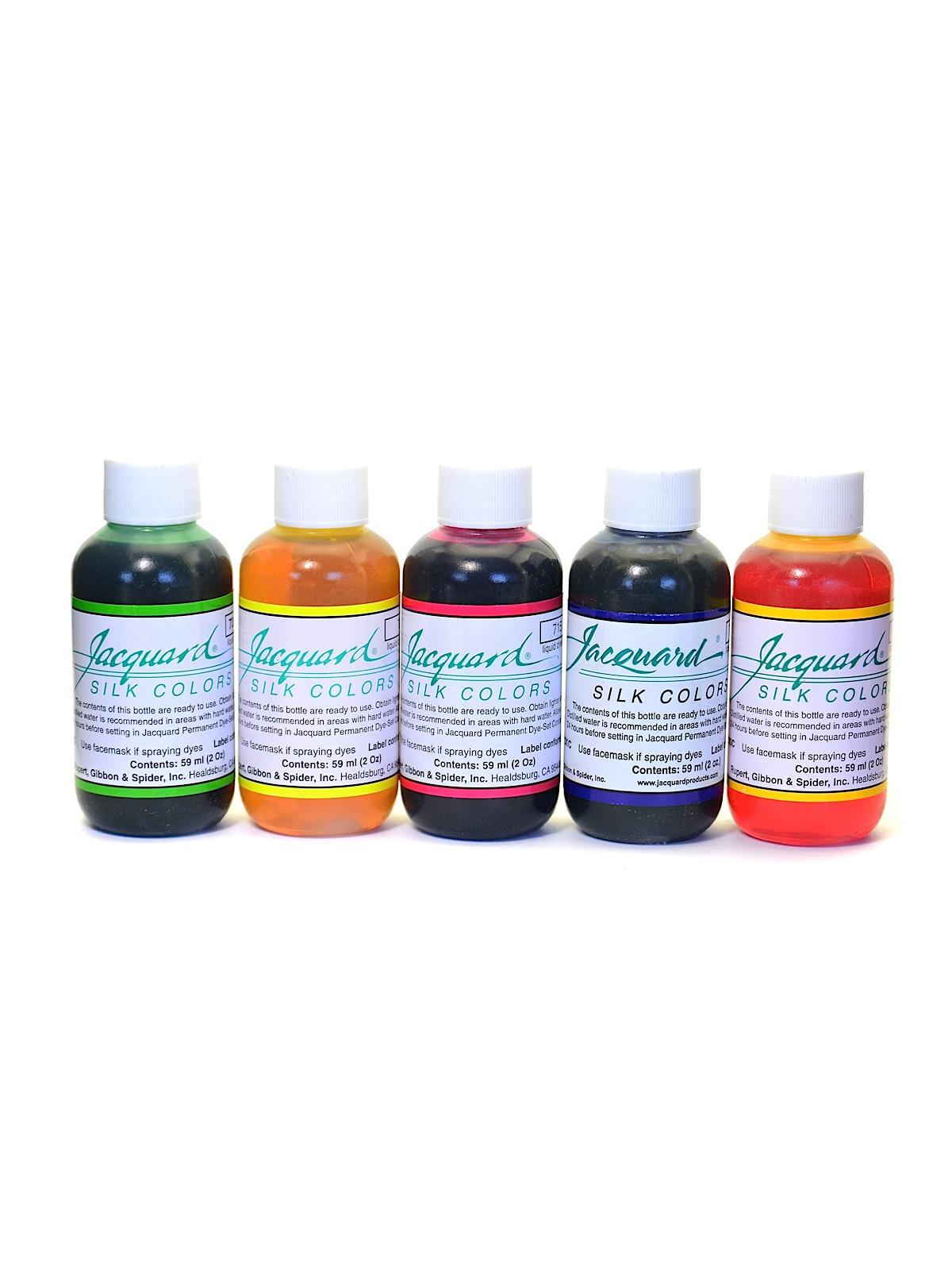 Jacquard - Green Label Silk Colors
