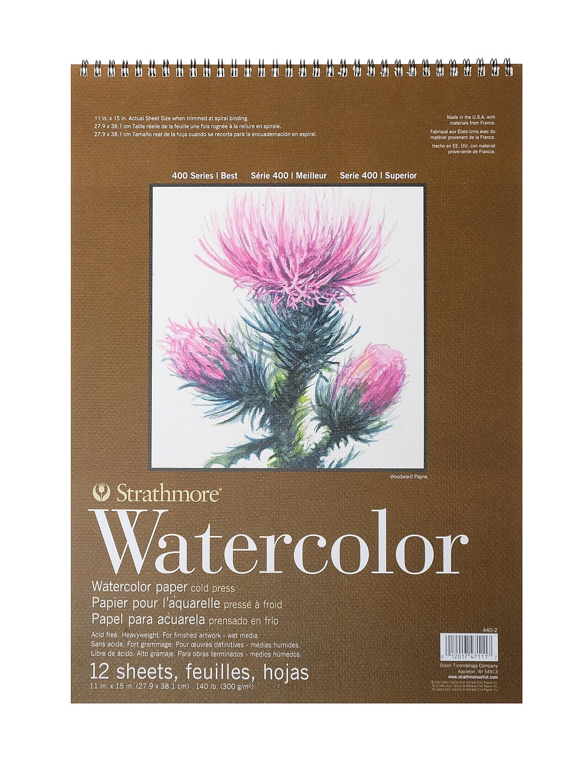 400 Series Watercolor Pad