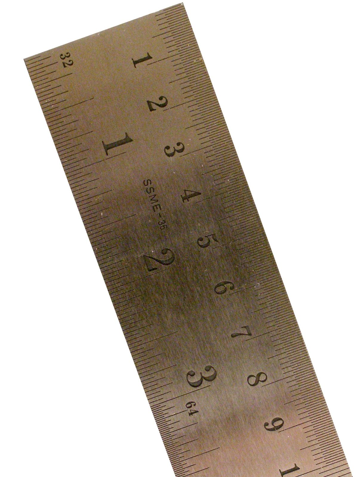 Stainless Steel Rulers Inch/Metric with Conversion Table