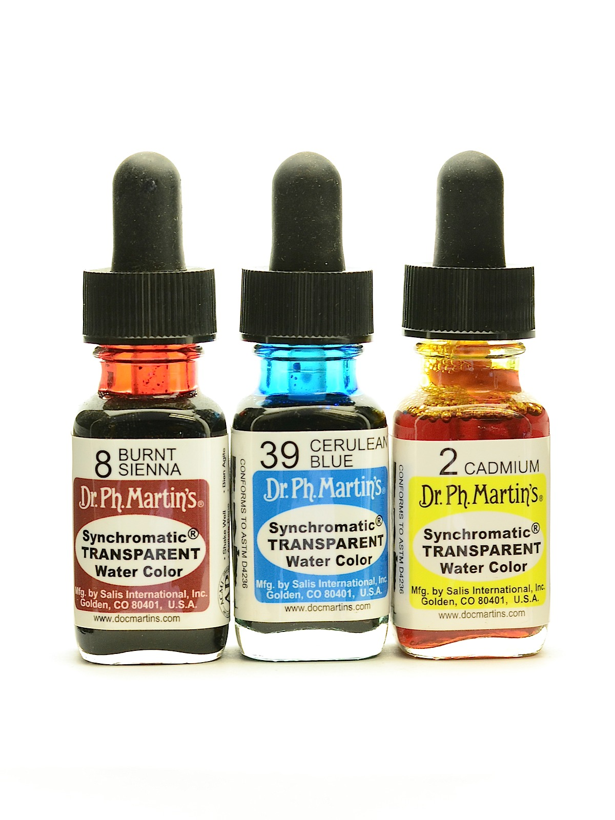 Synchromatic Transparent Watercolors 1/2 oz.