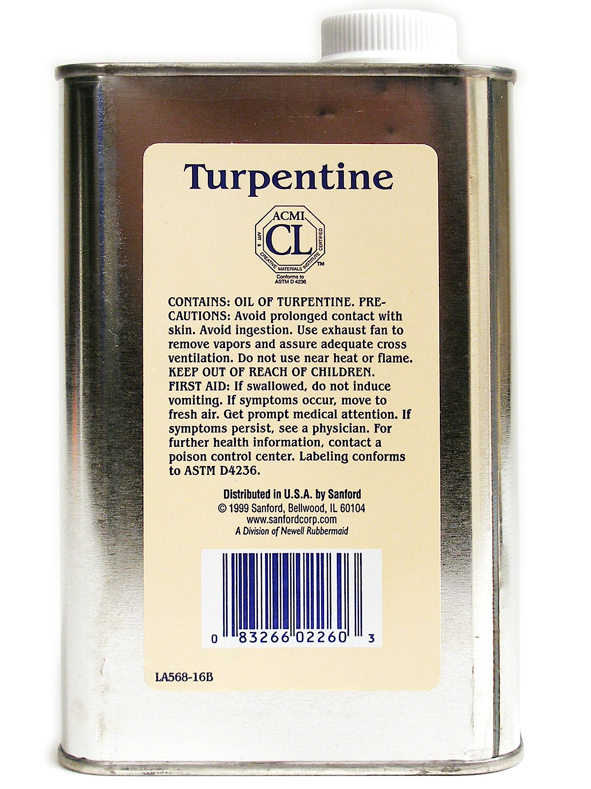 Gum Spirits of Turpentine
