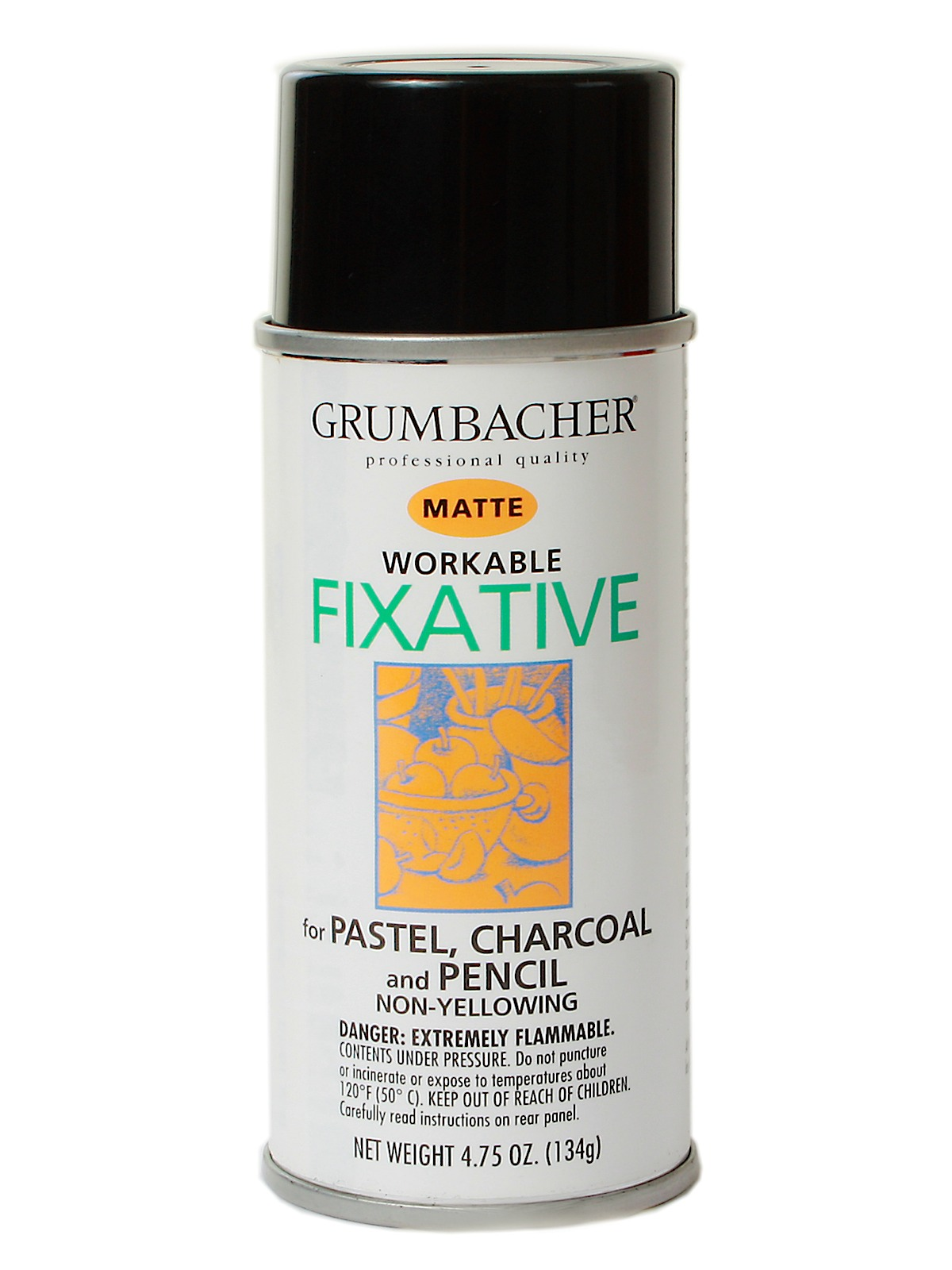 Workable Fixative Spray