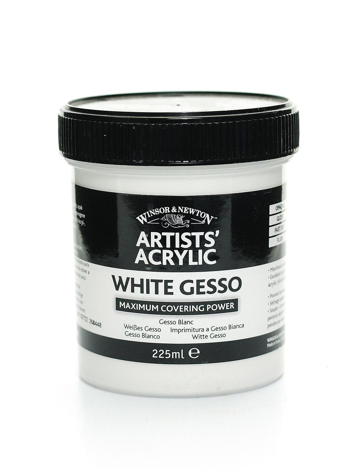 how to use gesso with acrylic paint