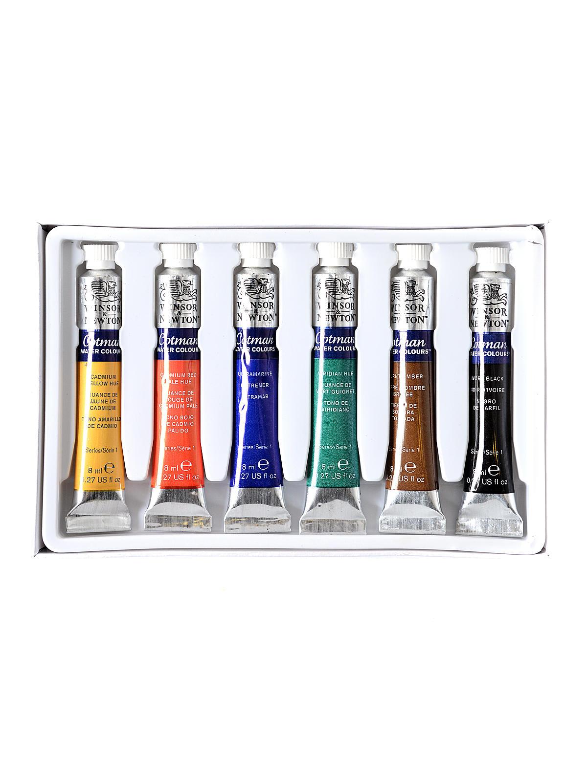 Cotman Water Colour Introductory Sets