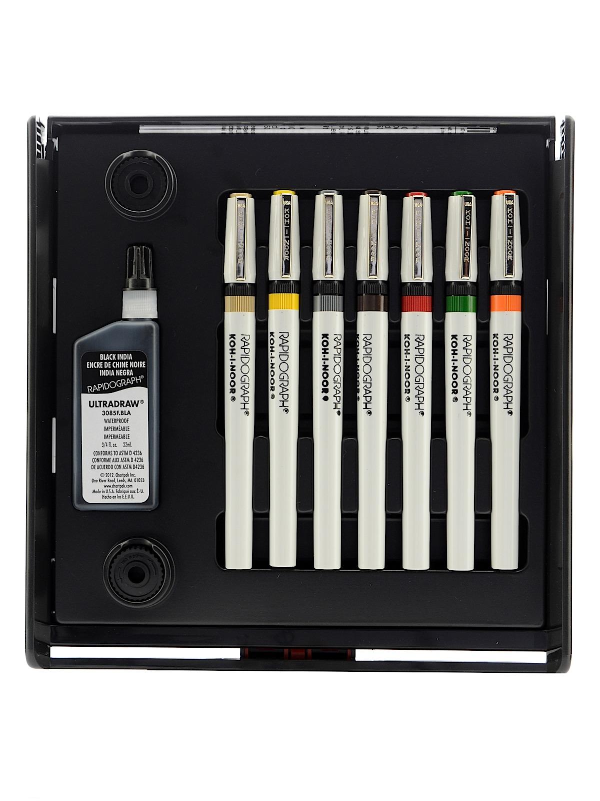 Rapidograph Slim Pack Sets