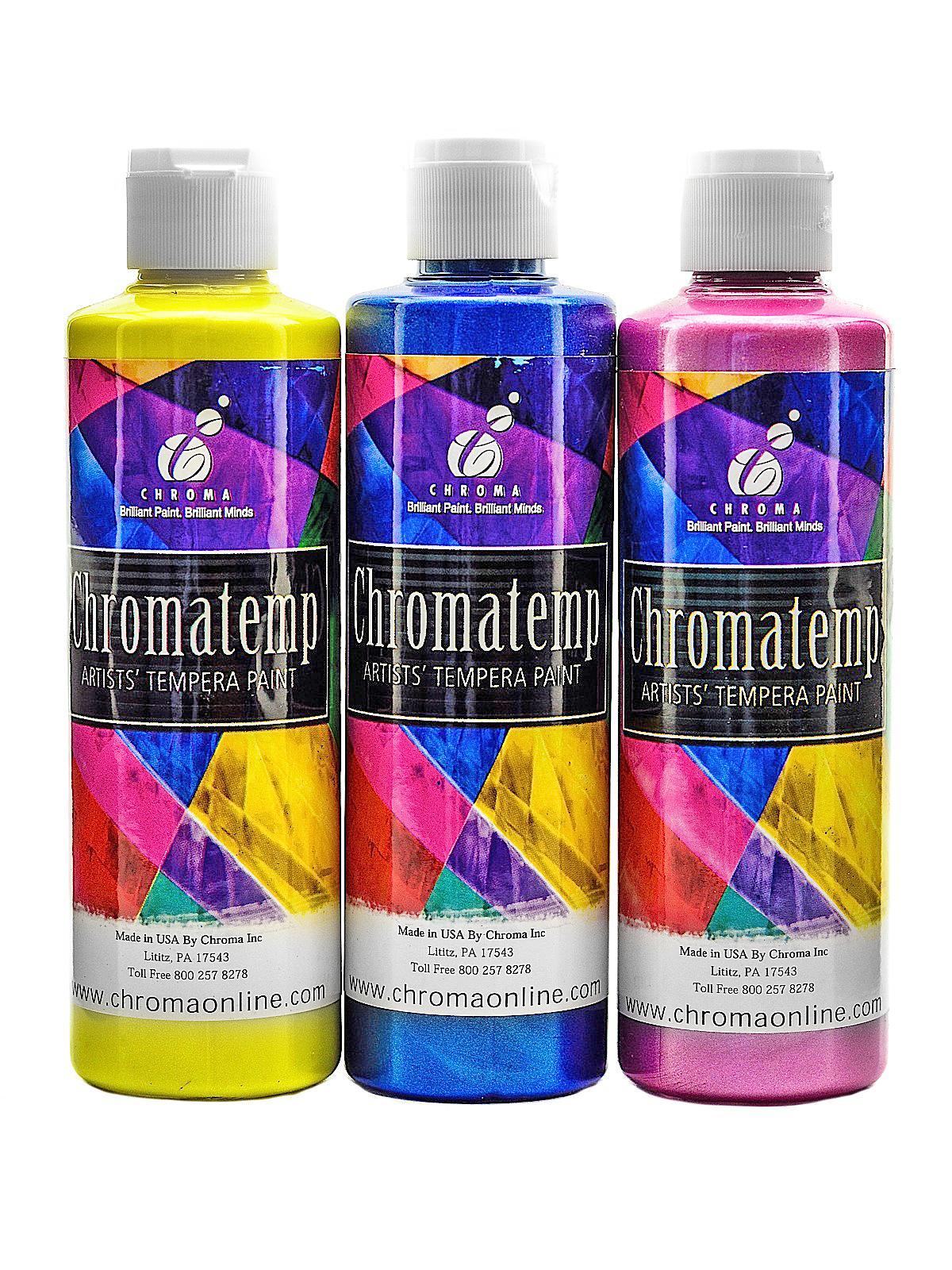 ChromaTemp Pearlescent Tempera Paint
