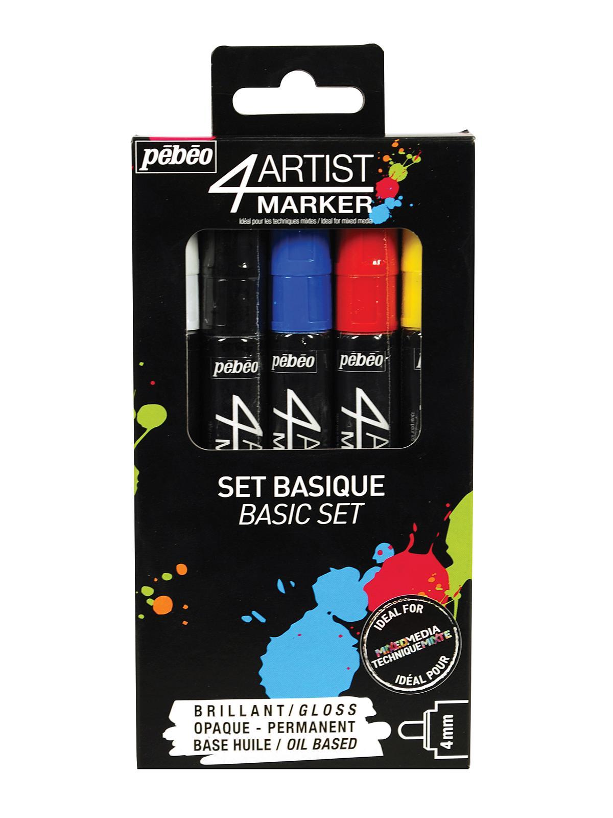 4Artist Marker Sets