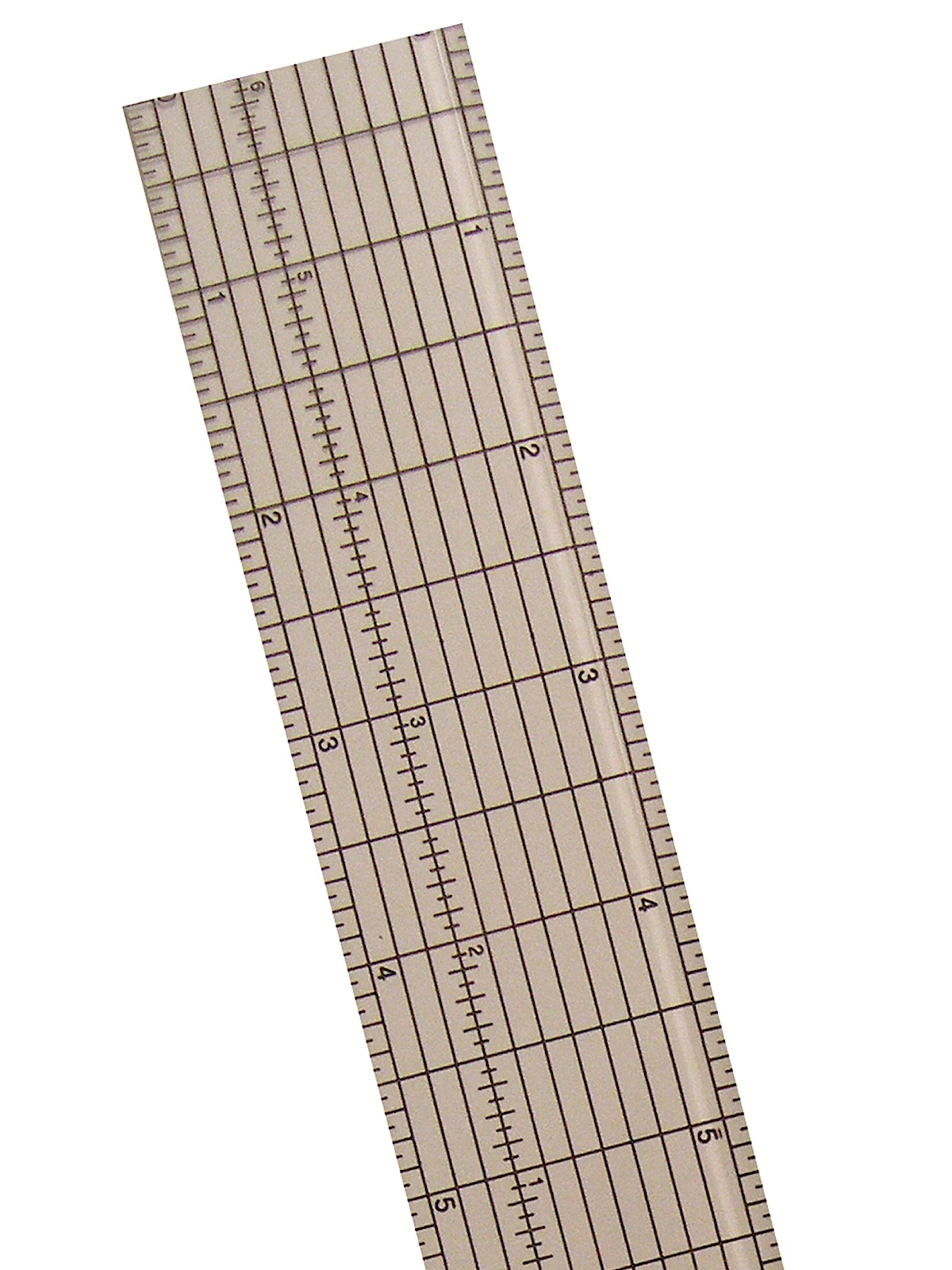 Clear Plastic Grid Rulers