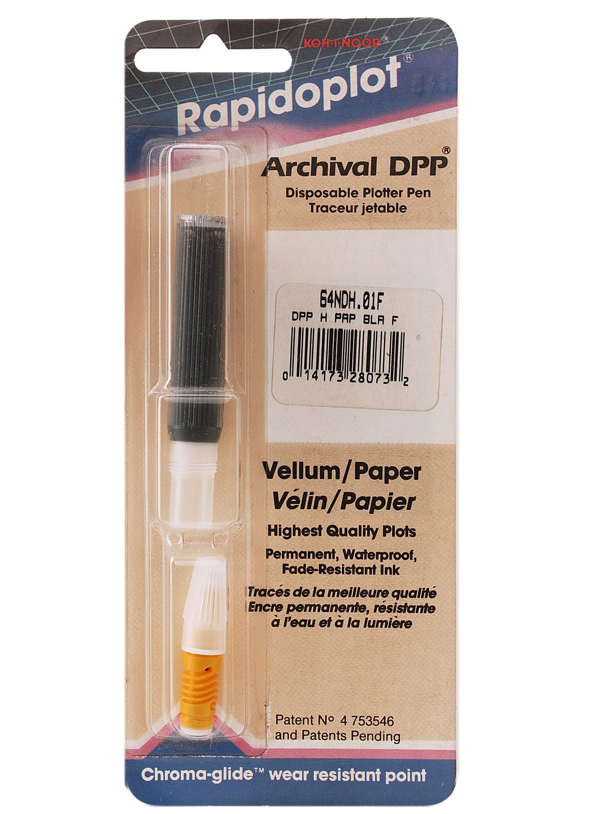 64NDH Style Plotter Pen