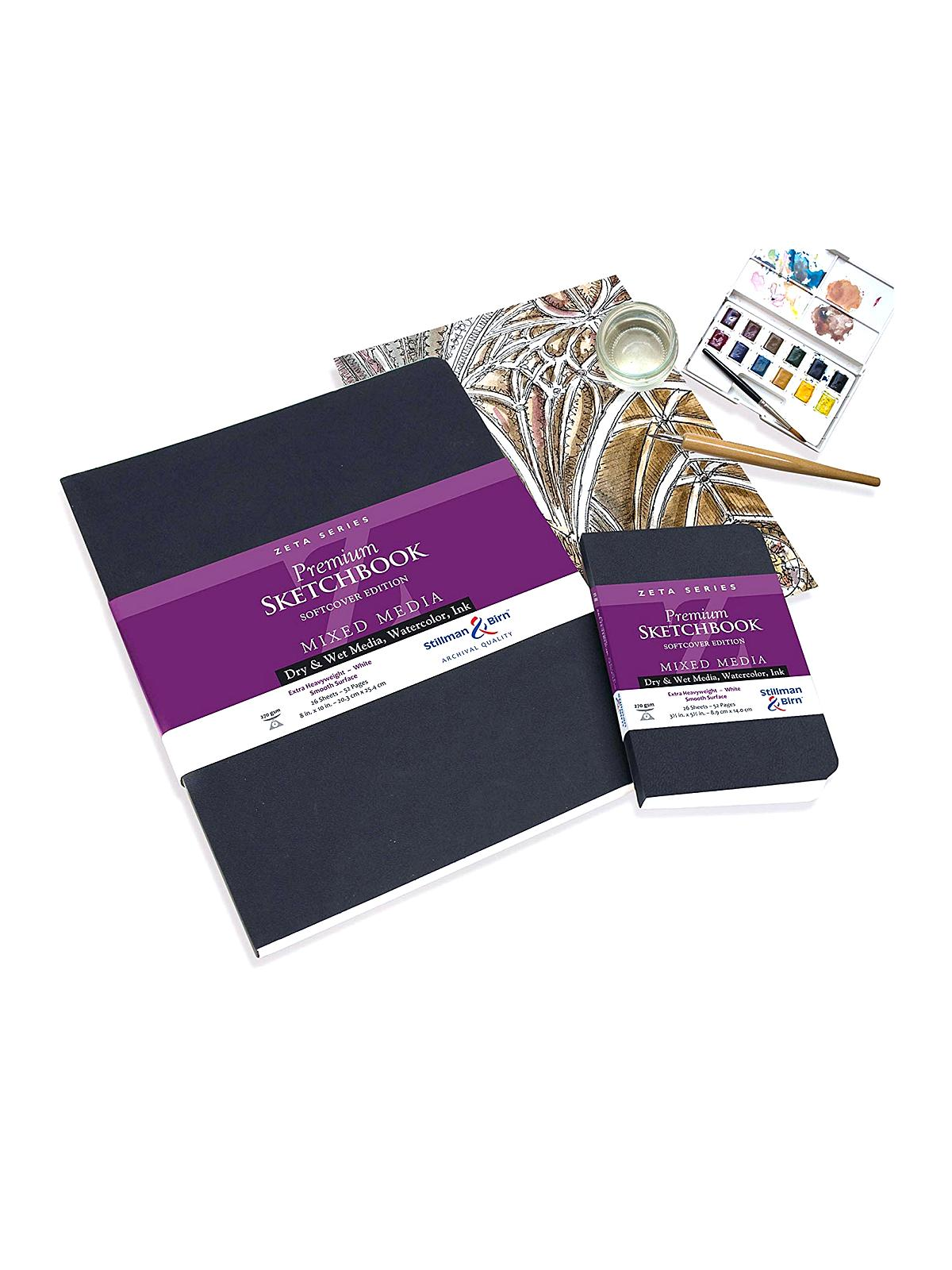 Stillman & Birn - Zeta Series Softcover Sketchbook