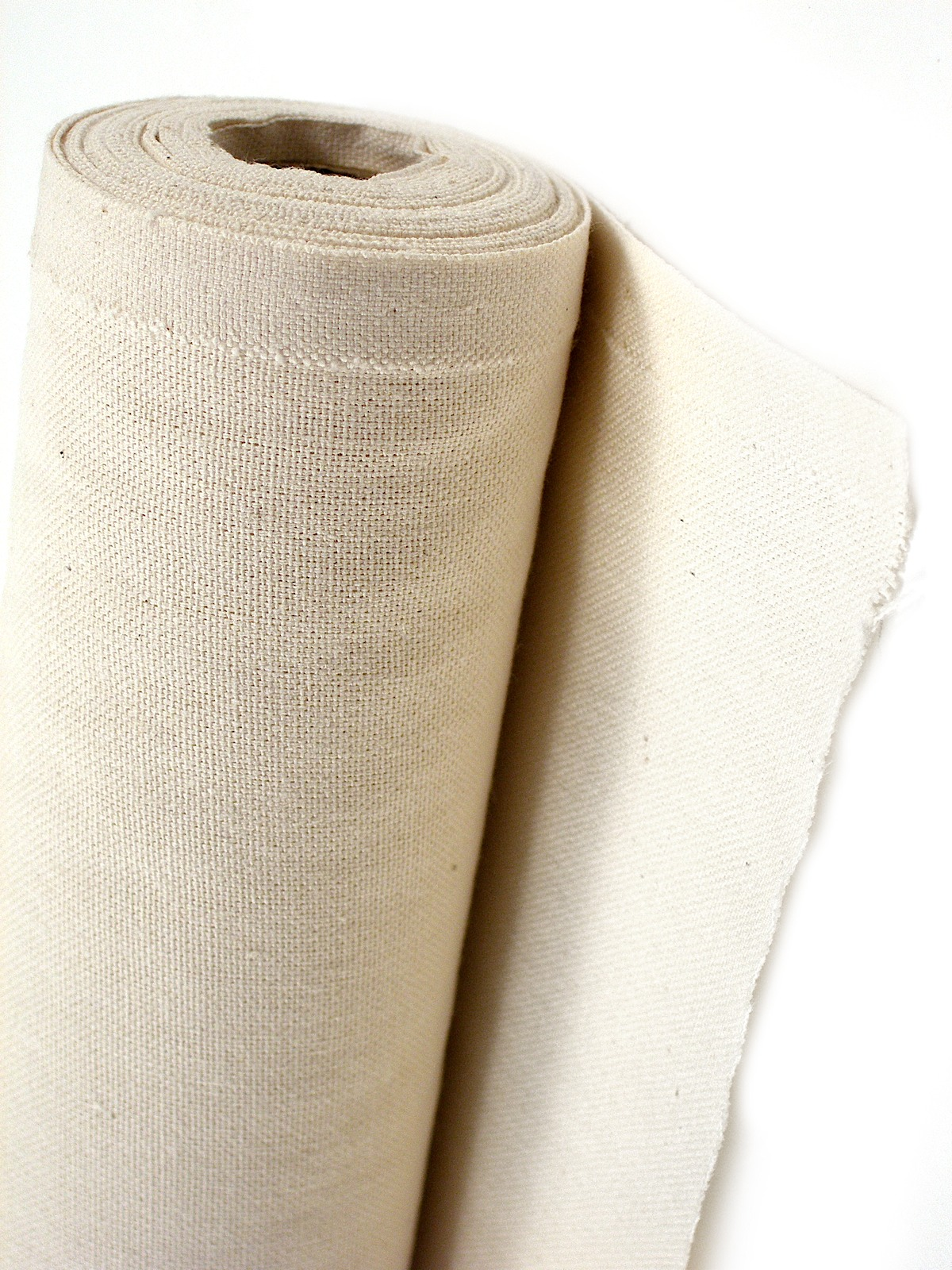 Raw Unprimed Medium Weight Cotton Canvas