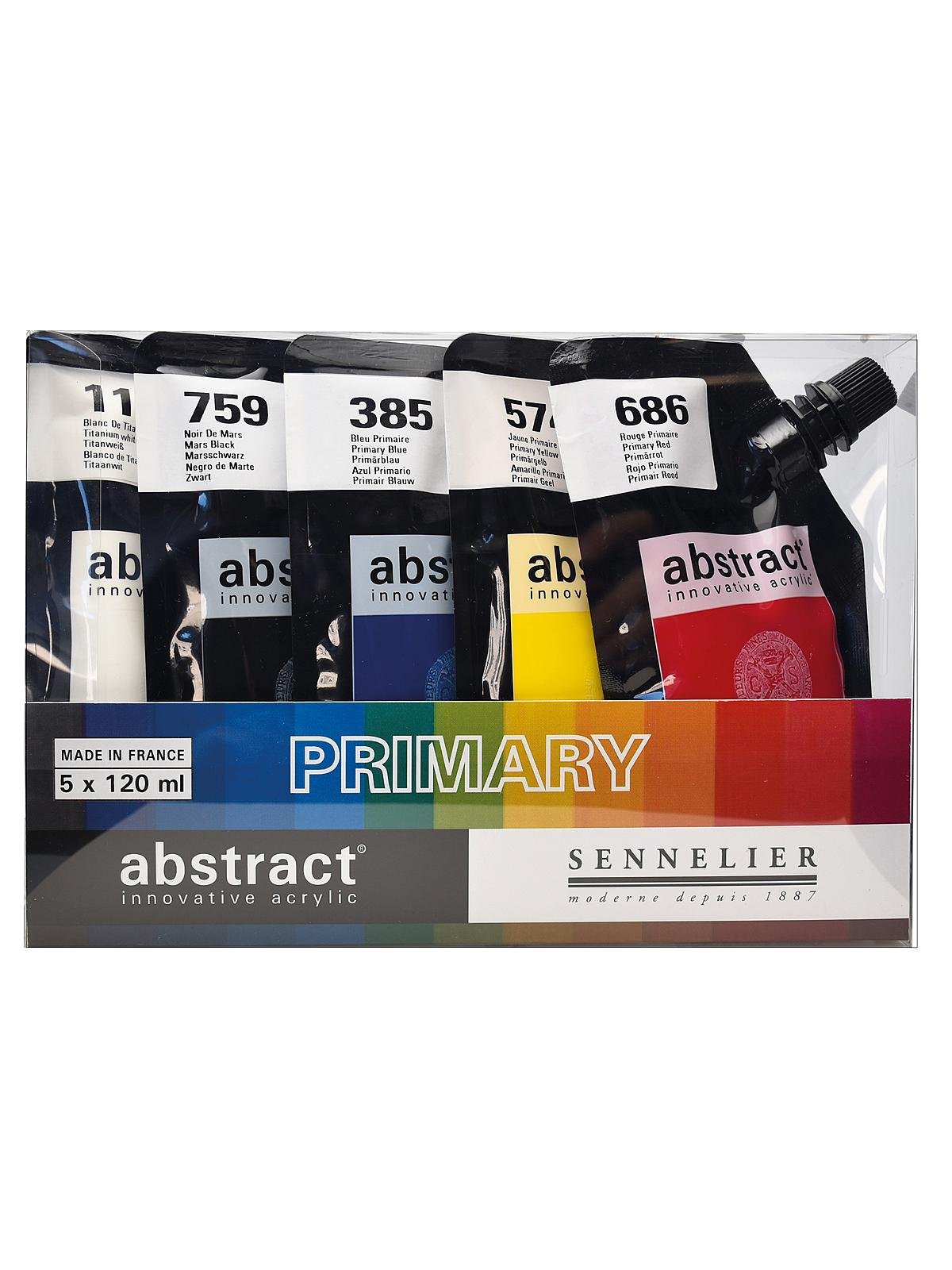 Abstract Acrylic Set