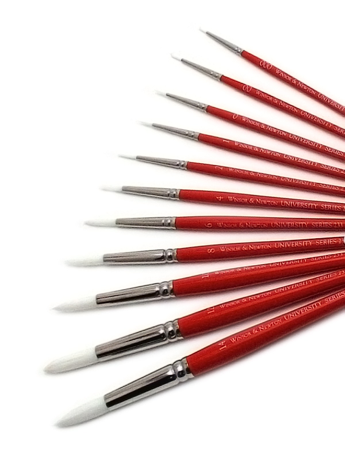University Series Short Handled Brushes