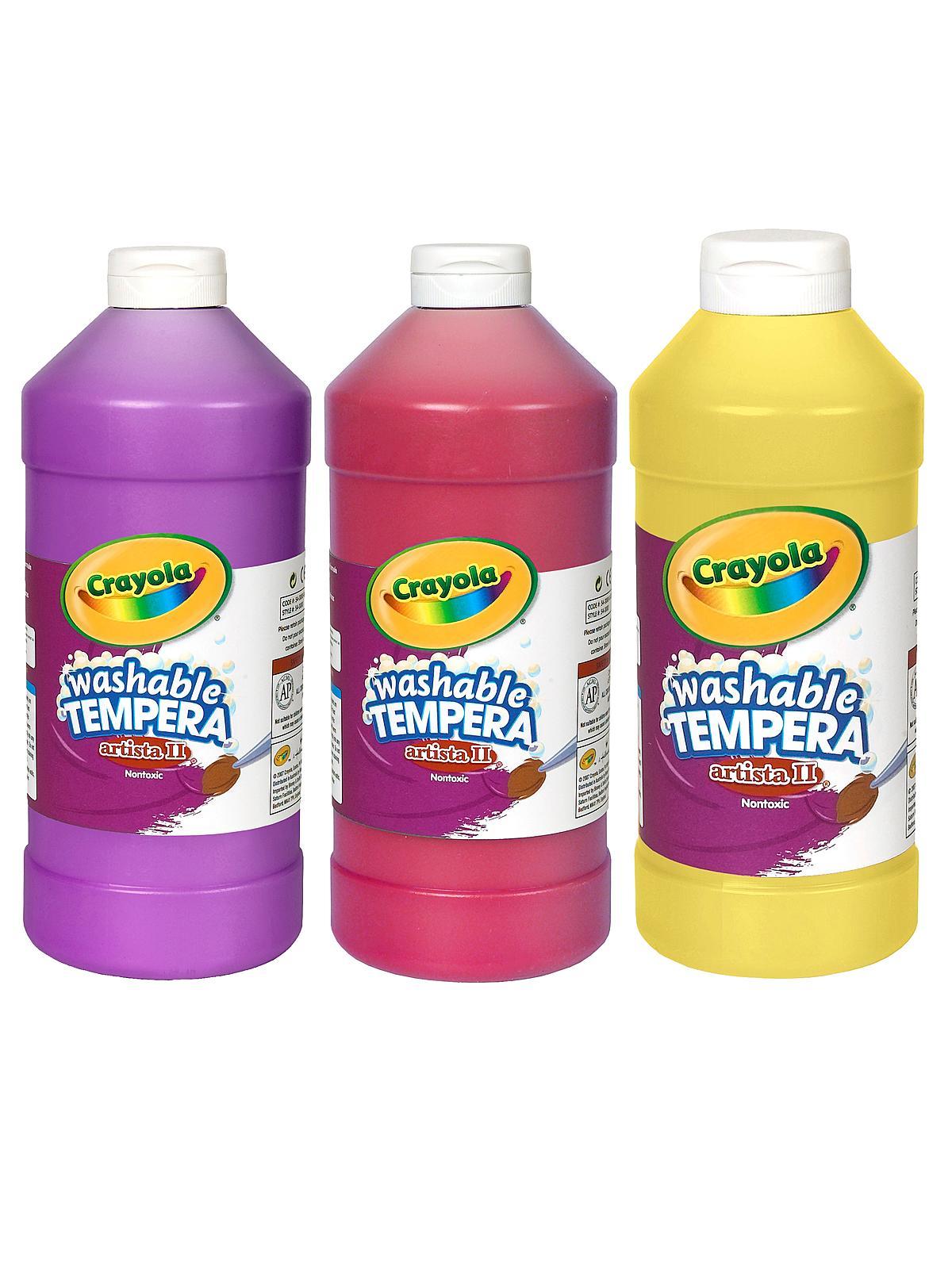 Liquid Tempera Paint On Wood