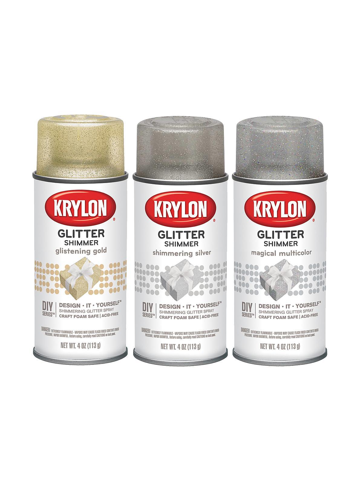 Krylon glitter spray for Spray glitter for crafts