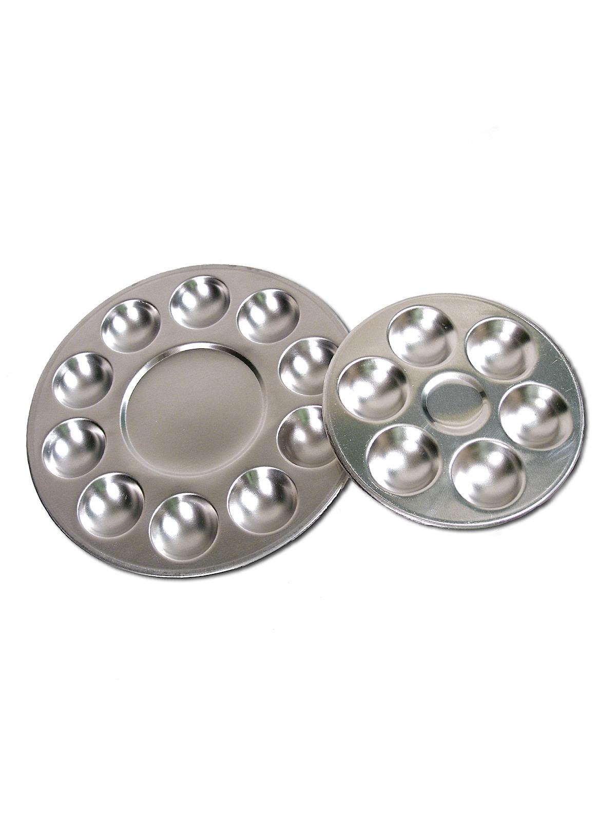 Round Aluminum Mixing Trays