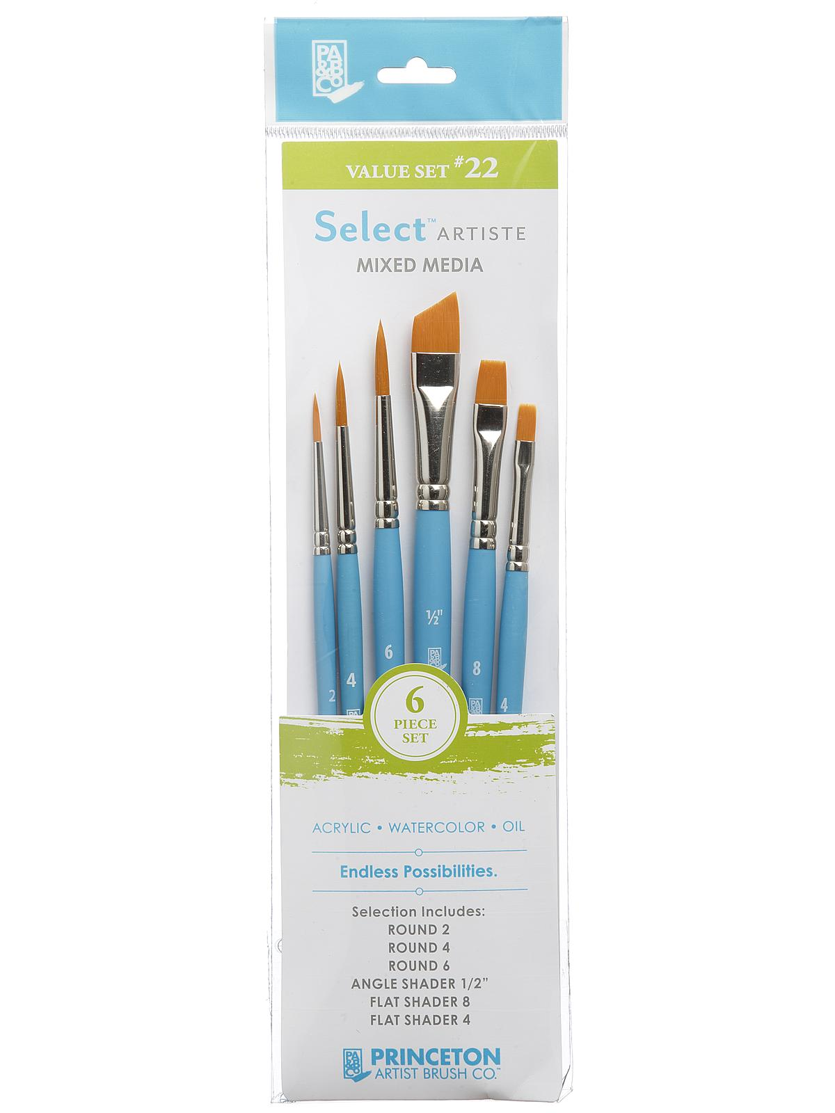 Select Artiste Brush Sets