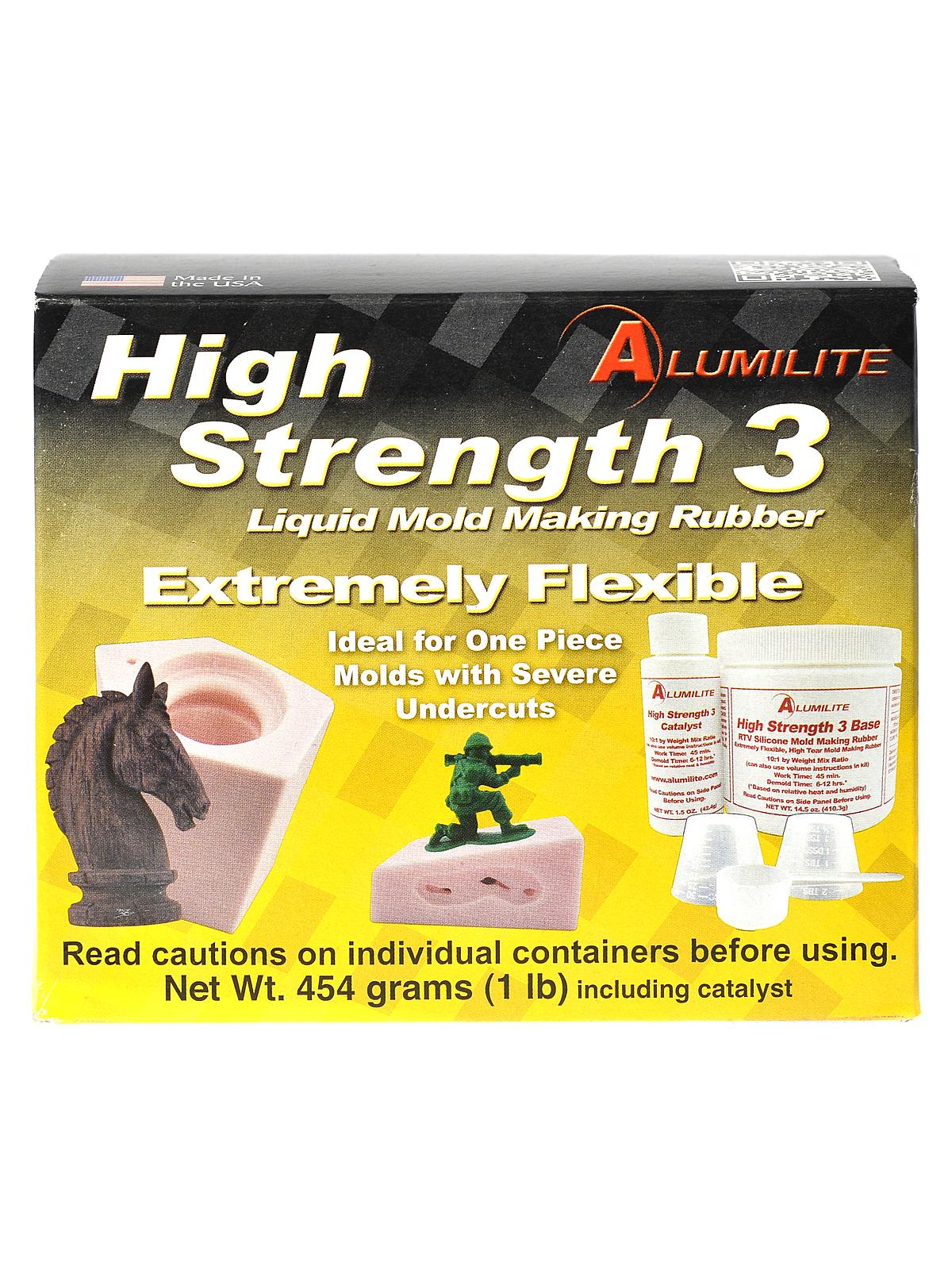 Alumilite High Strength 3 Rtv Mold Making Rubber