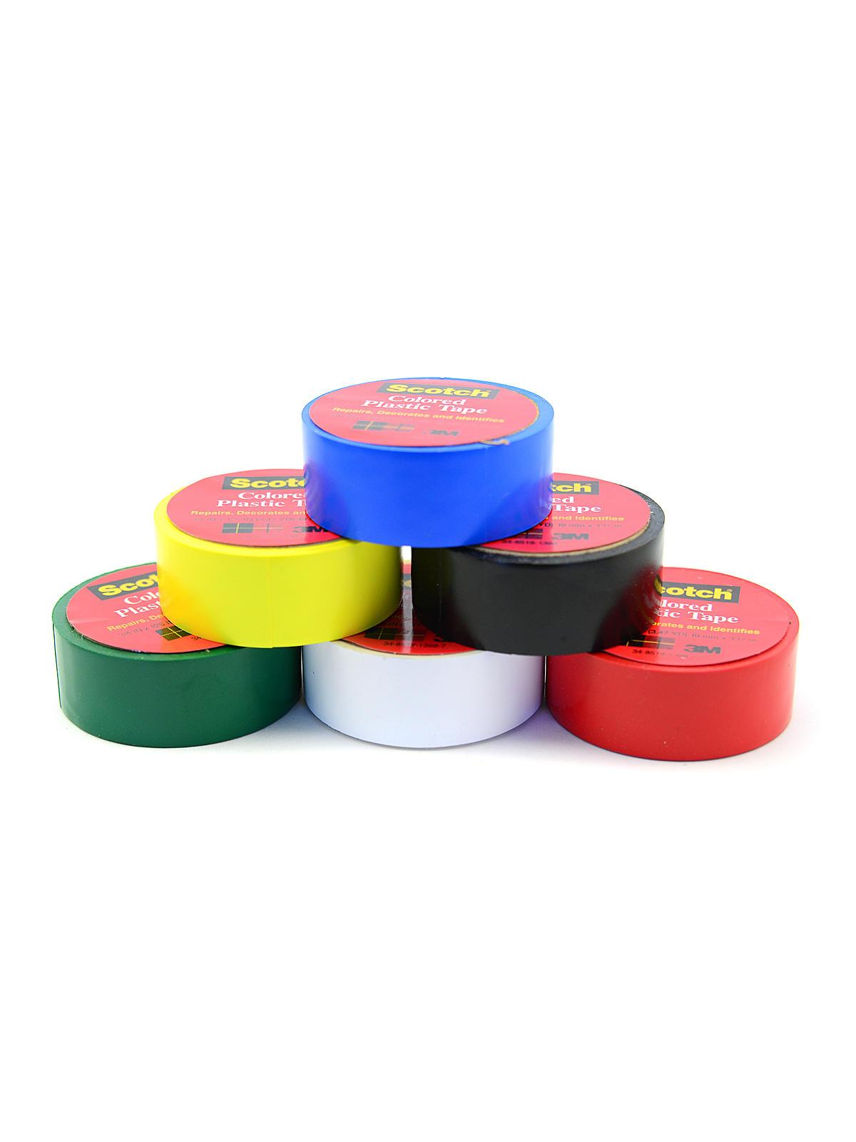 Scotch Colored Plastic Tape Misterart Com