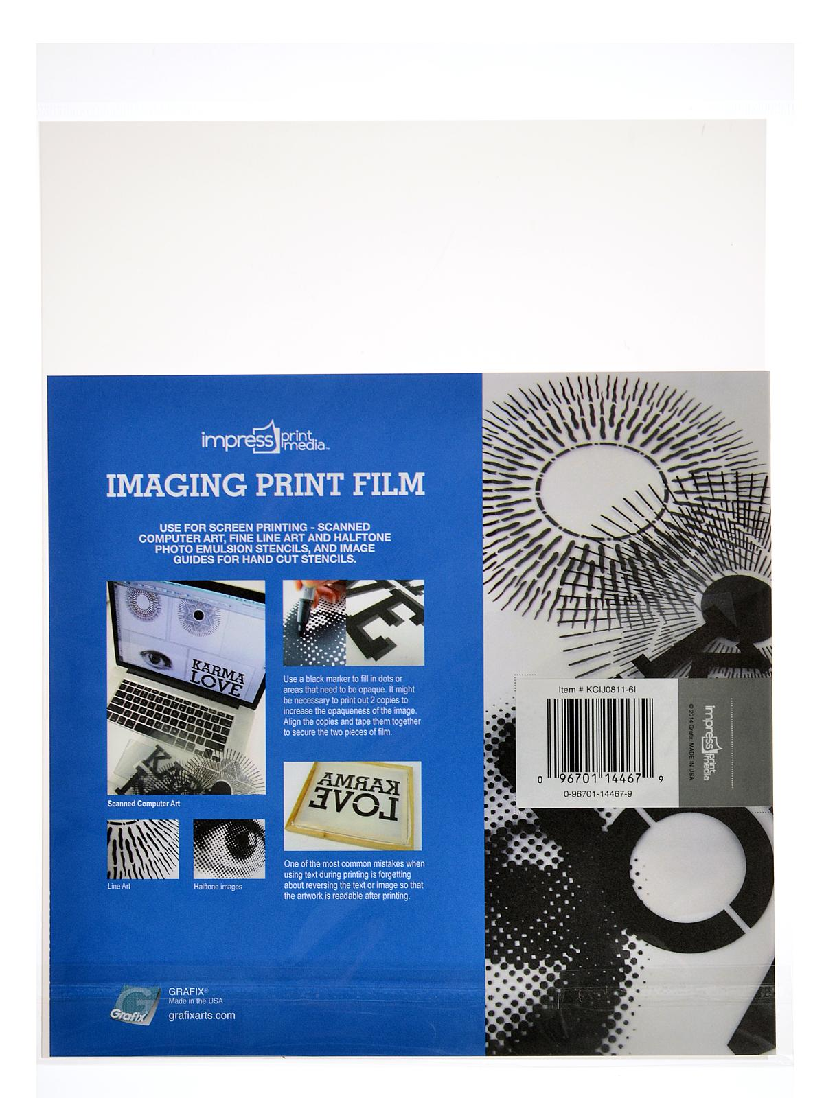 Imaging Print Film