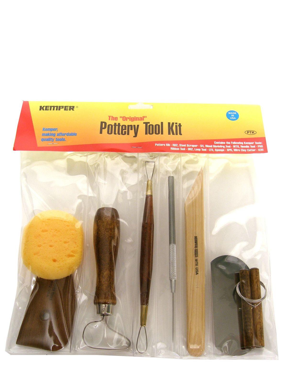 Kemper Pottery Tool Kit Misterart Com