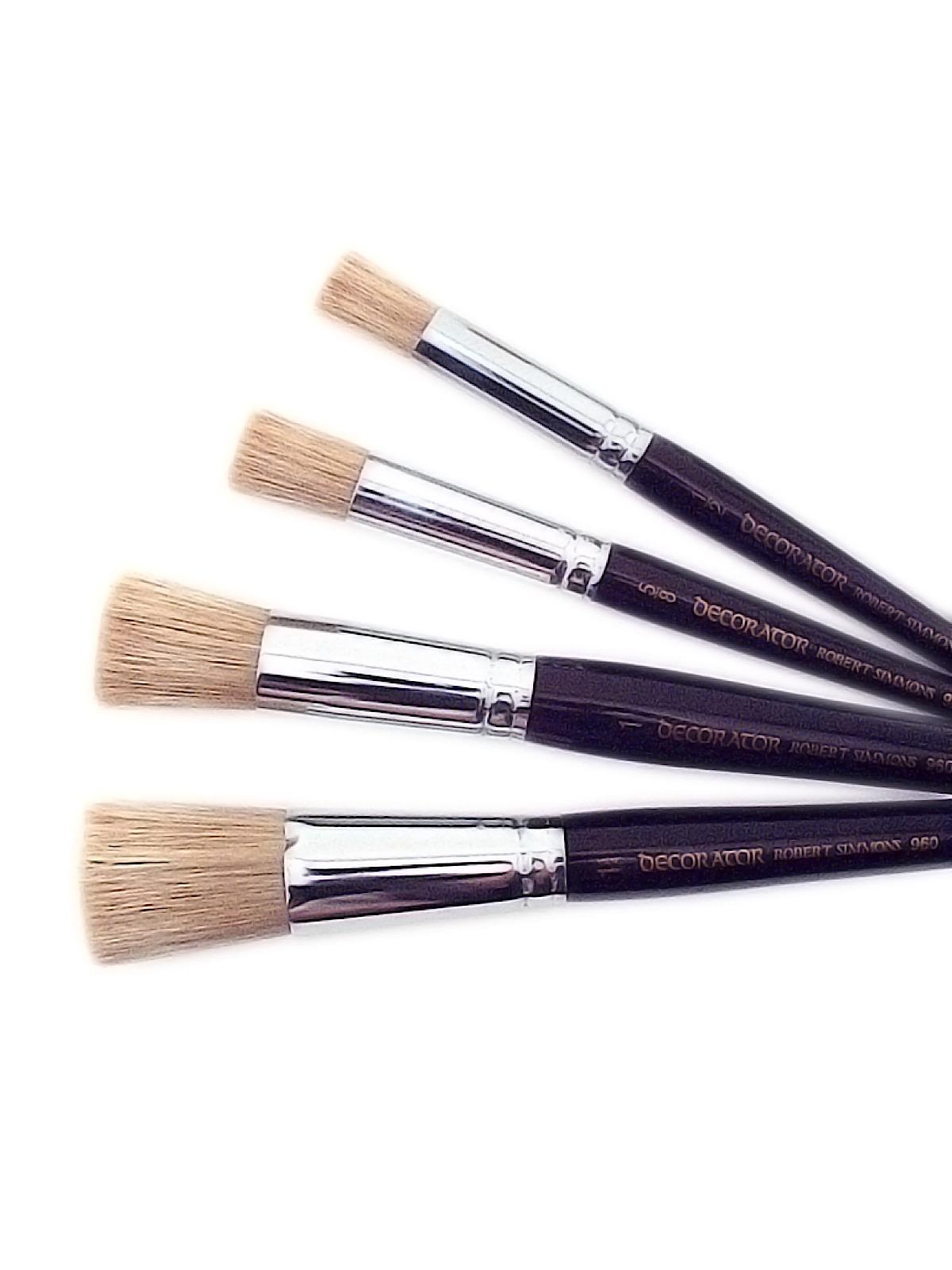 robert simmons series 960 decorator stencil brush