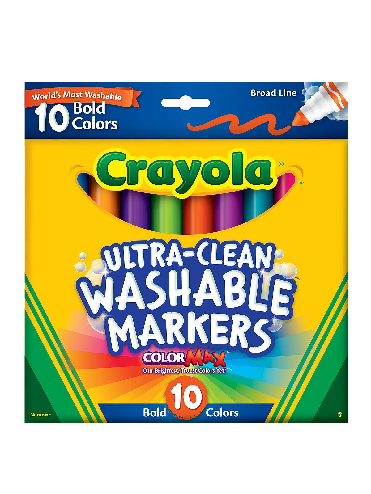 Bold Colors Ultra-Clean Washable Markers