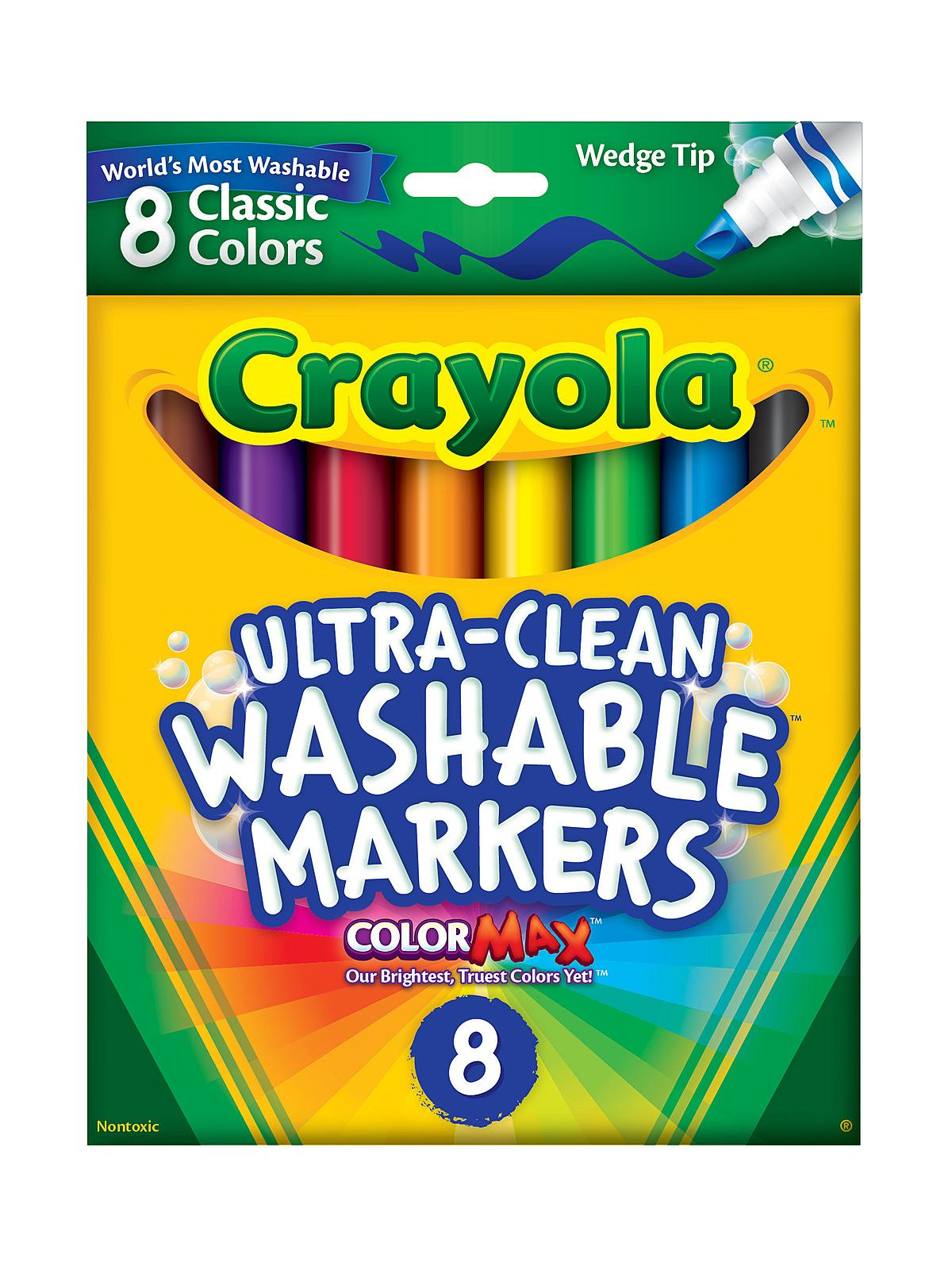 Classic Color Ultra-Clean Washable Markers