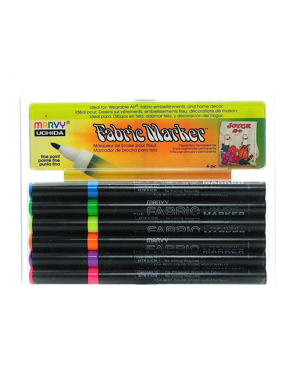 Fabric Markers Sets