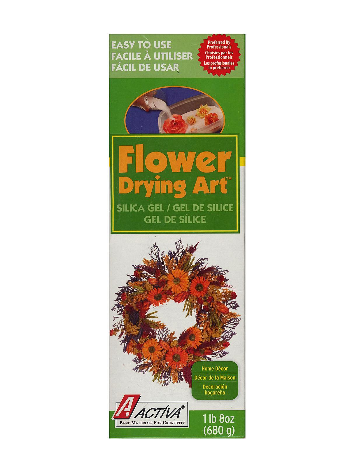 Flower Art Silica Gel