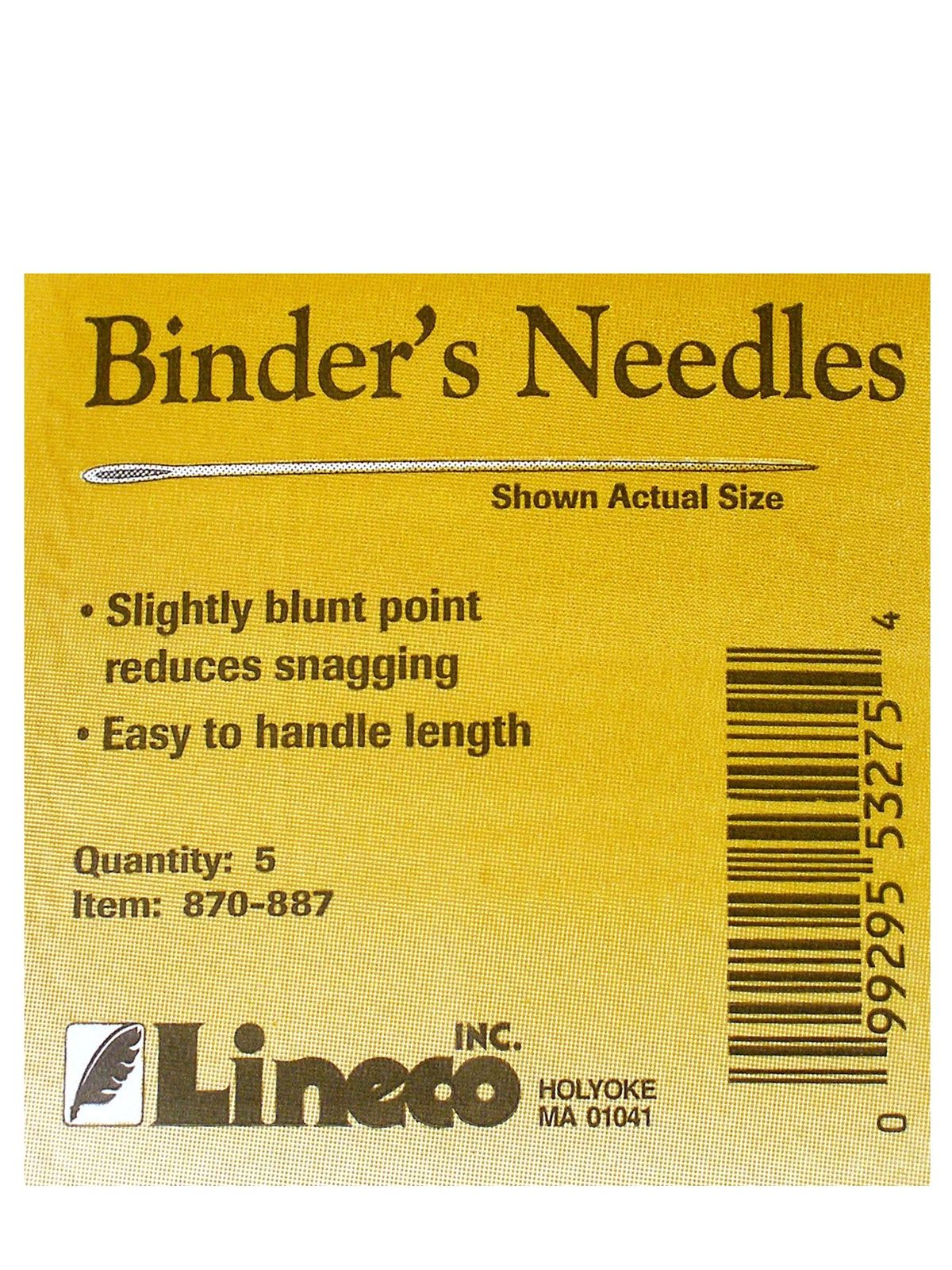 Bookbinders Needles