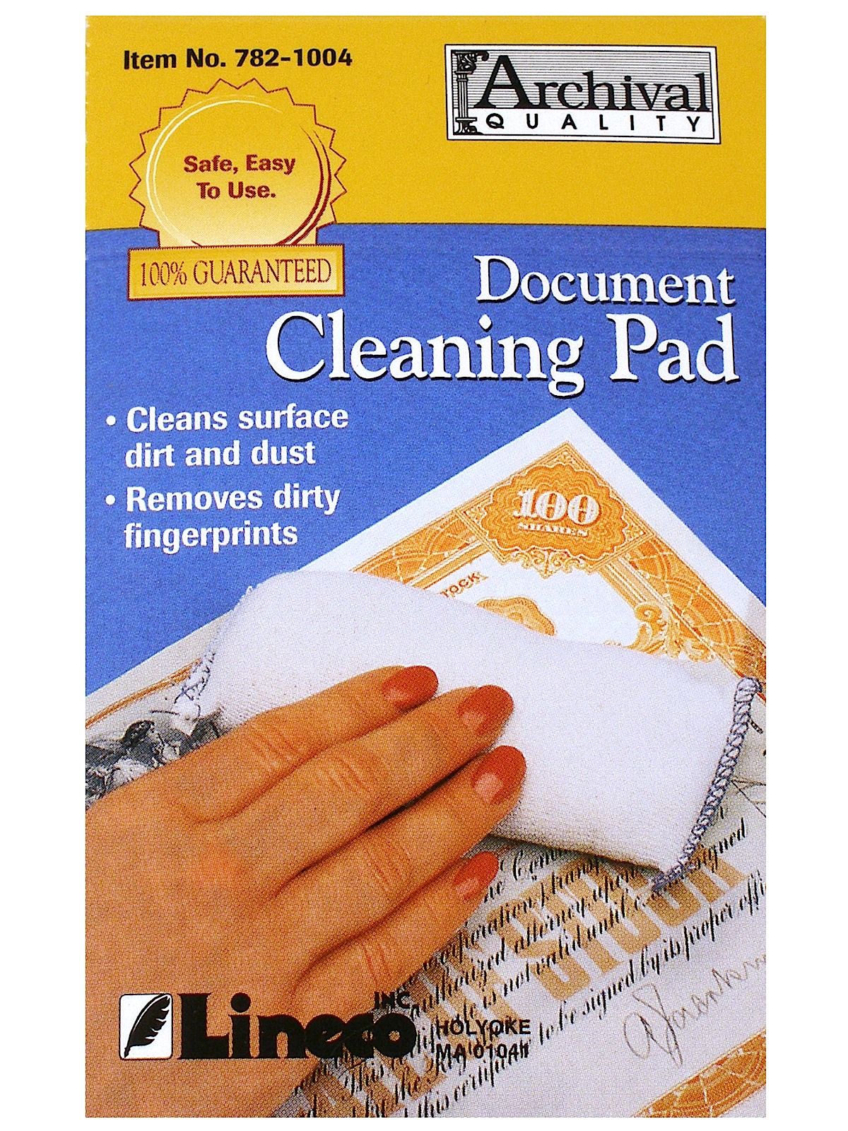 Document Cleaning Pads