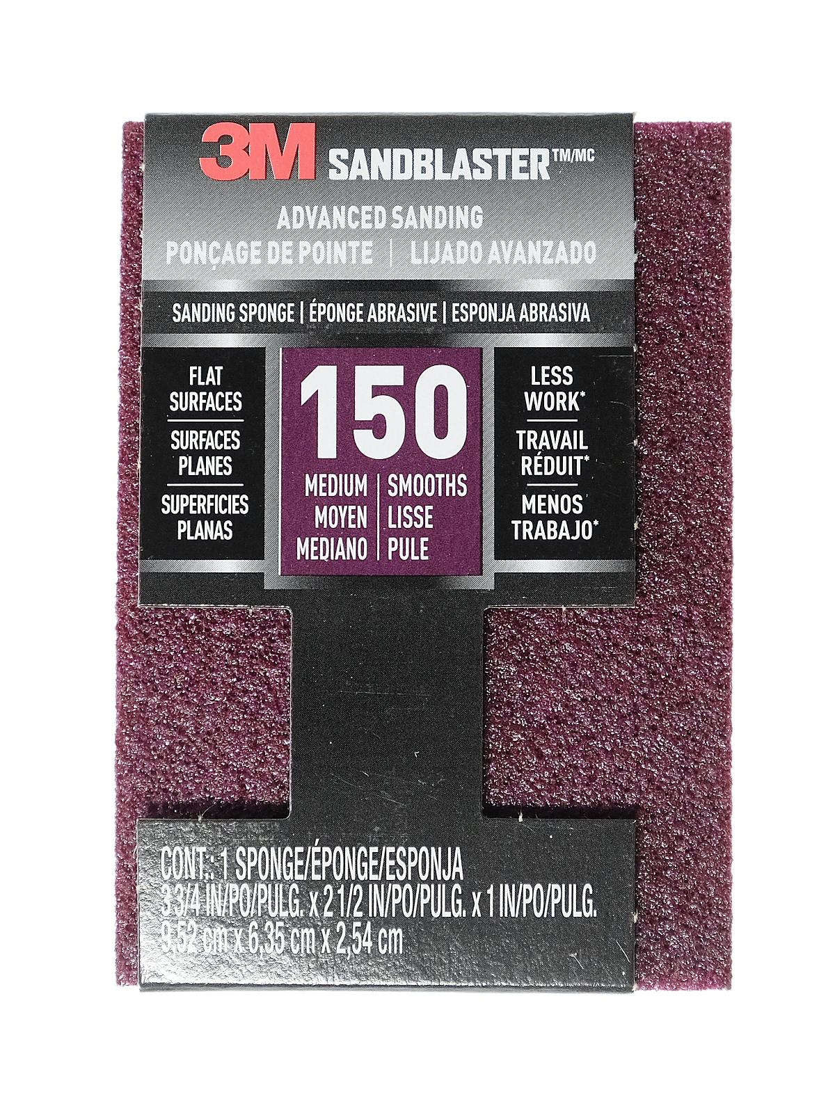 SandBlaster Sanding Pads and Sponges